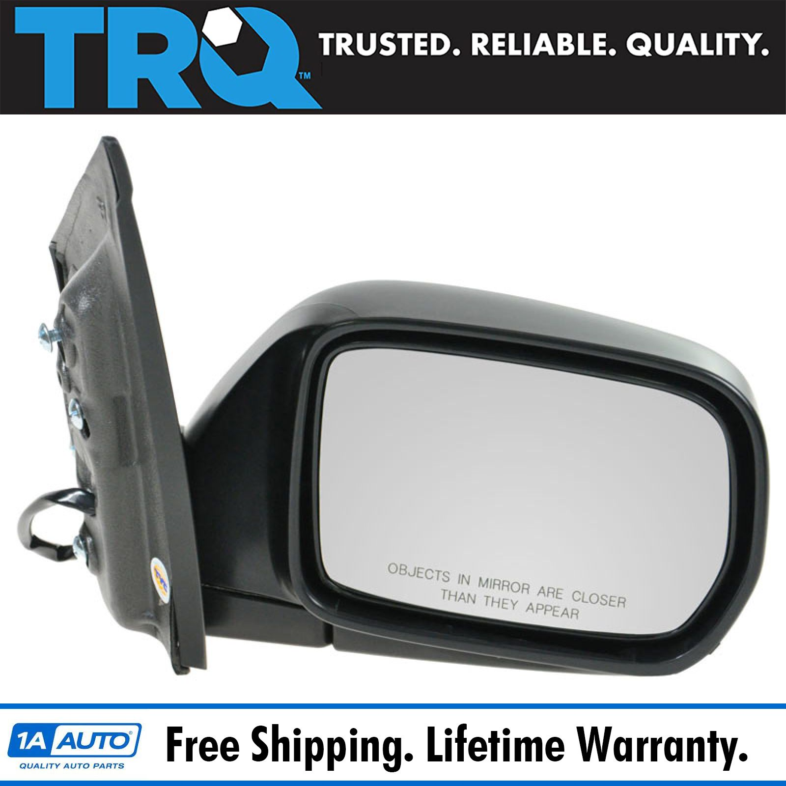 11-13 Odyssey Power Non-Heated Manual-Fold Rear View Mirror Right Passenger Side