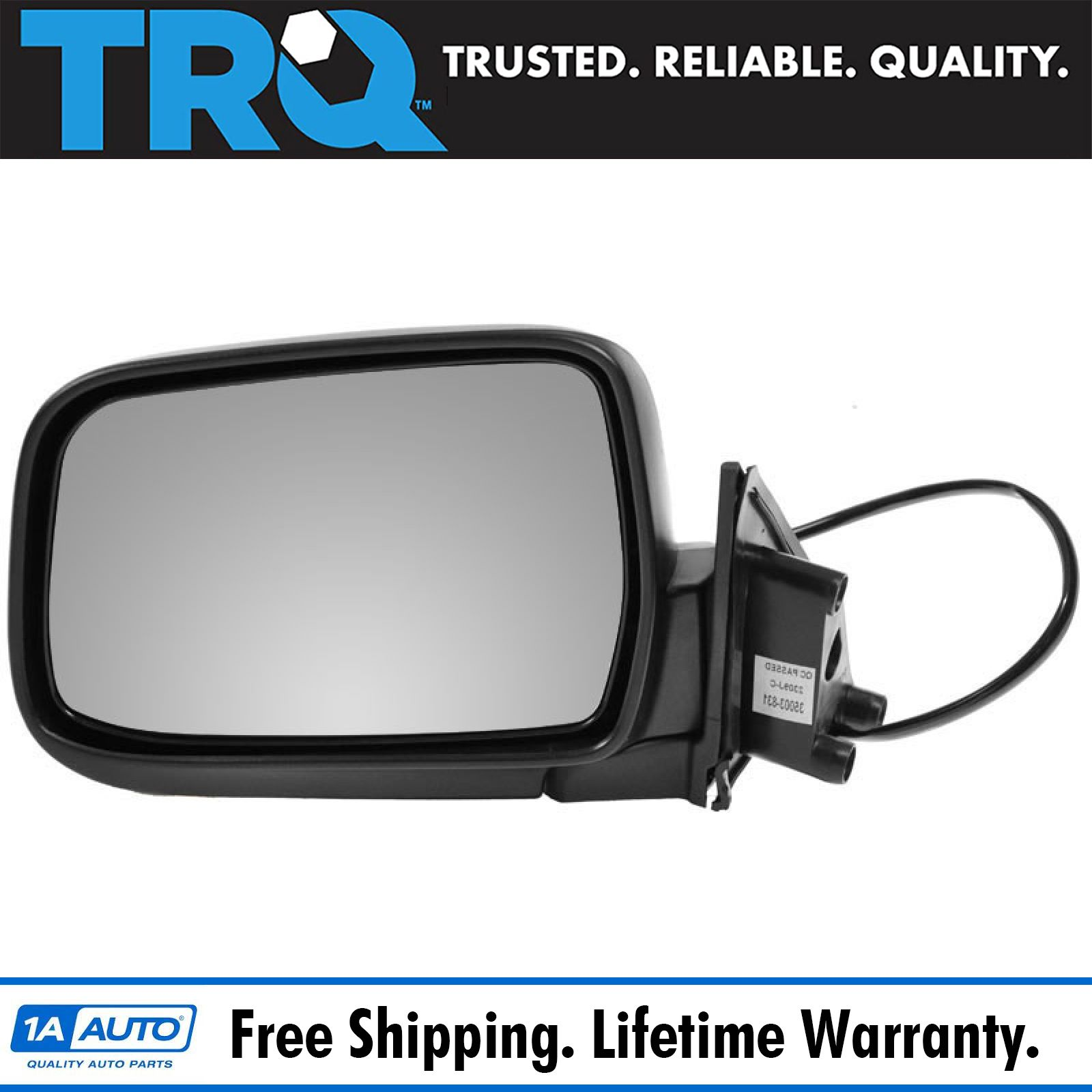 Mirror Power Heated Smooth Driver Side Left LH for Nissan Frontier Xterra