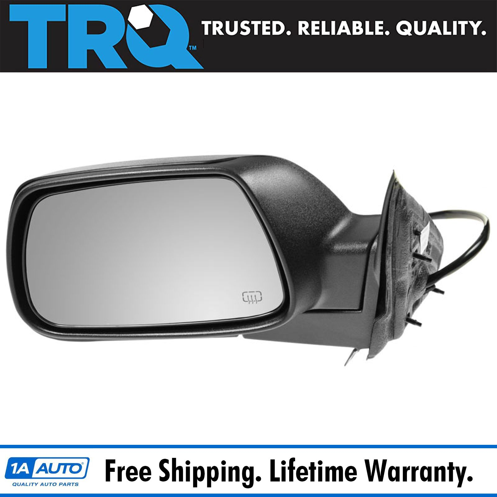 TYC 93-95 Grand Cherokee Power Non-Heated Rear View Fold Mirror Left Driver Side