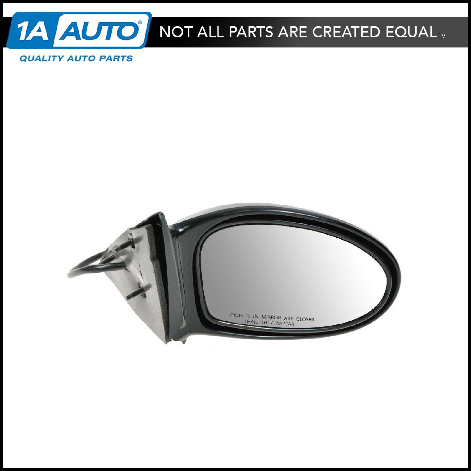 Power Black Side View Door Mirror Driver LH Left for 02-03 Pontiac Grand Am