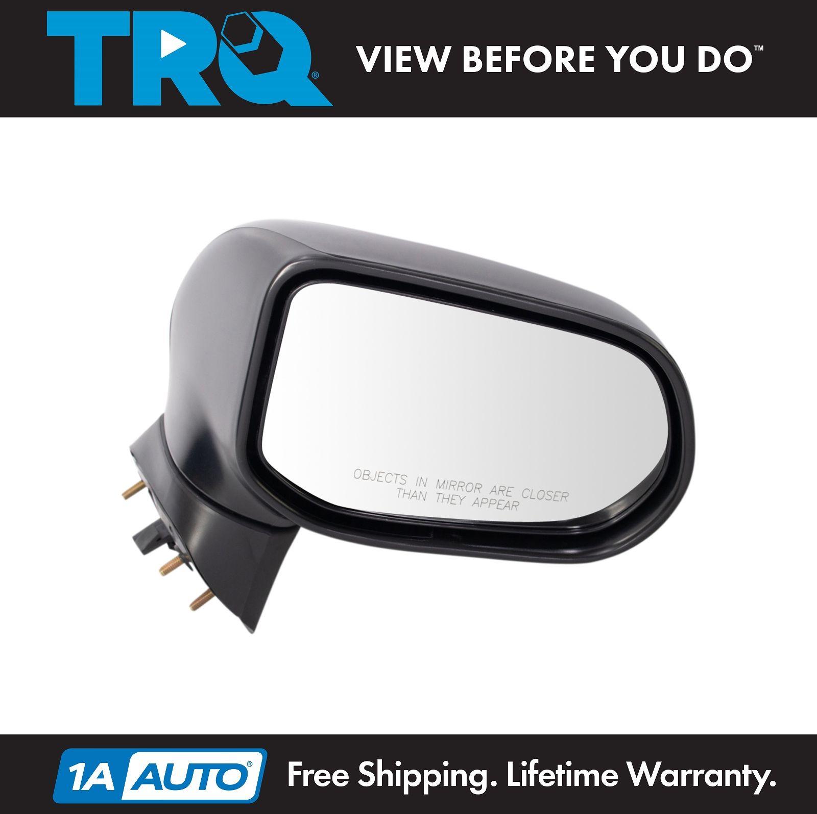 06-11 Civic EX LX 4-Door Sedan Power Black Rear View Mirror Right Passenger Side