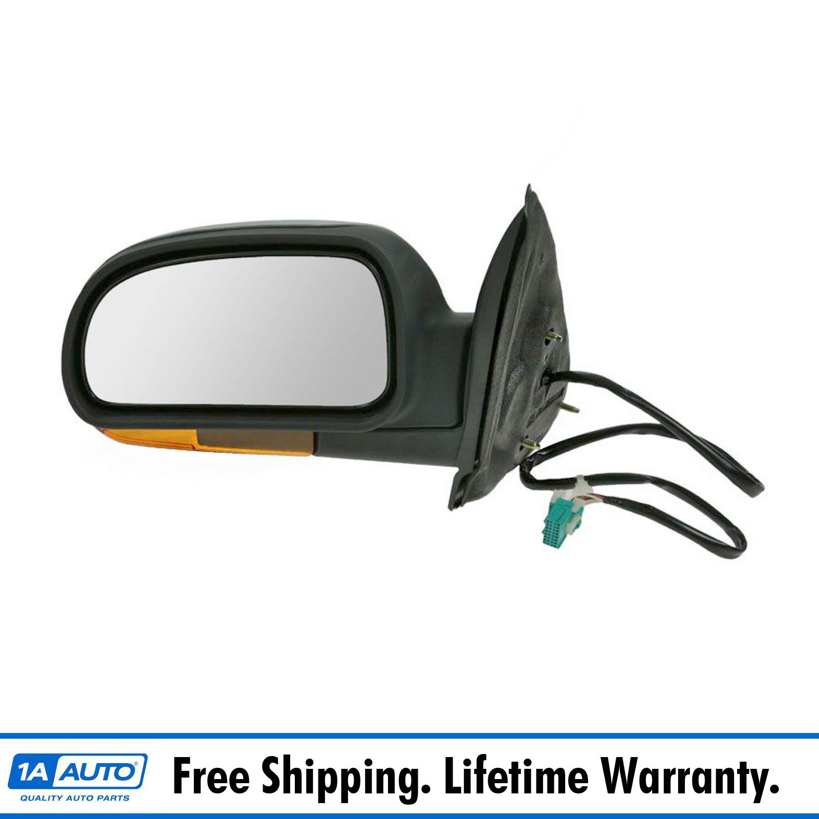 Power Folding Turn Signal Heated Side View Mirror Driver
