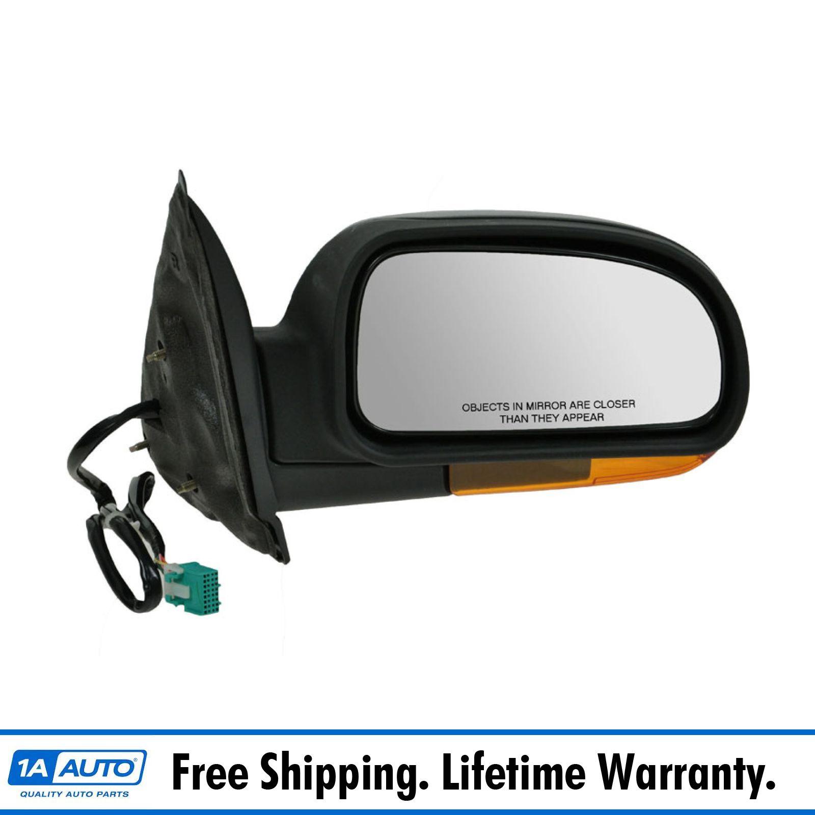 Passenger Side for Chevrolet Trailblazer GM1321316 2003 to 2007 New Mirror