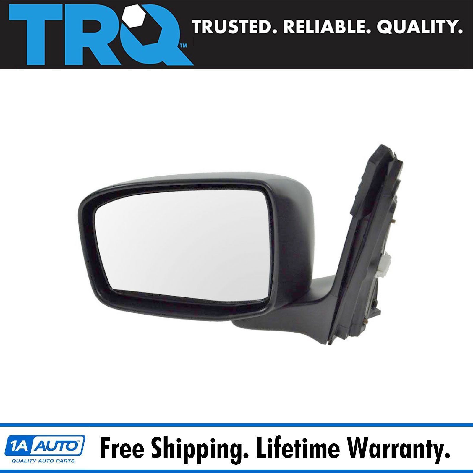 Driver Side Flat View Drop Fit OE Replacement Mirror Glass F40039 Fits Kia