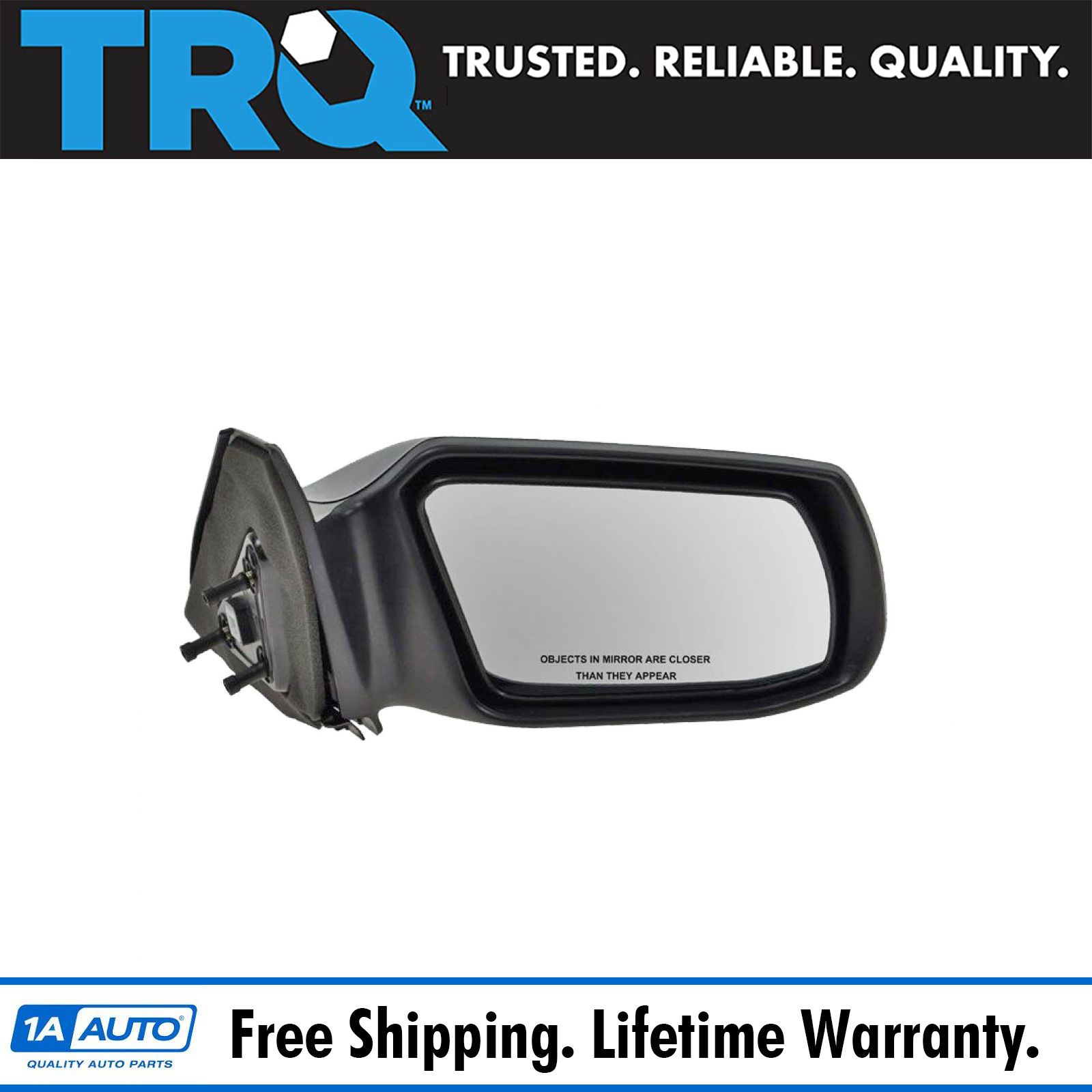 Mirror Glass For 07-12 Nissan Altima Driver Side Replacement