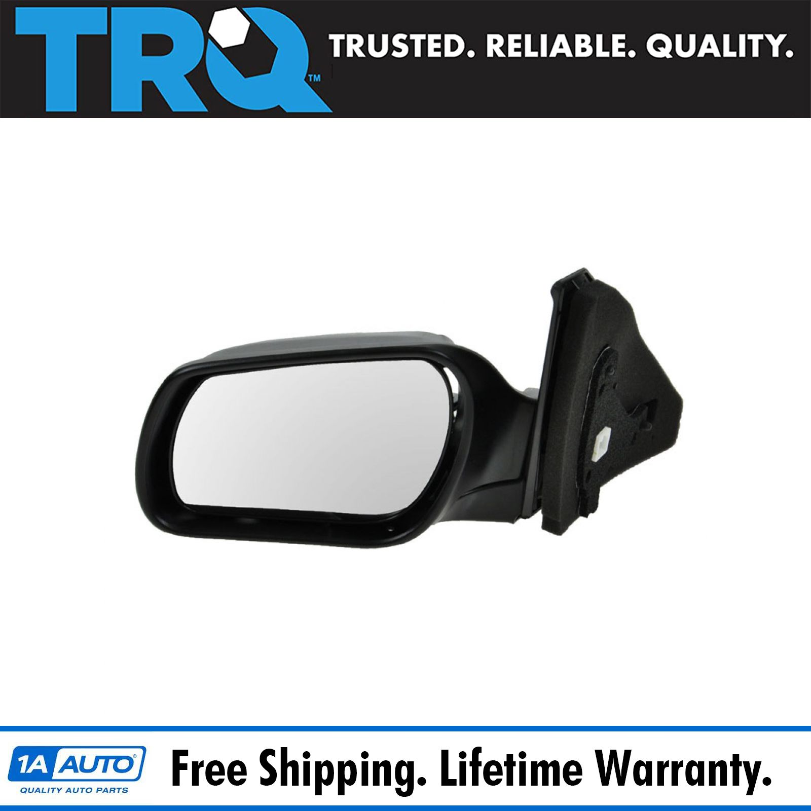 Side View Mirror Power Black Driver Left Hand LH for 09-13 Honda Pilot