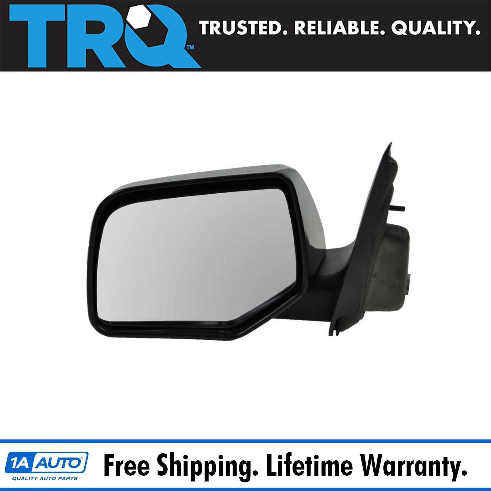 for 2010 2012 Nissan Escape LH Left Driver side Mirror Power//Heated Smooth