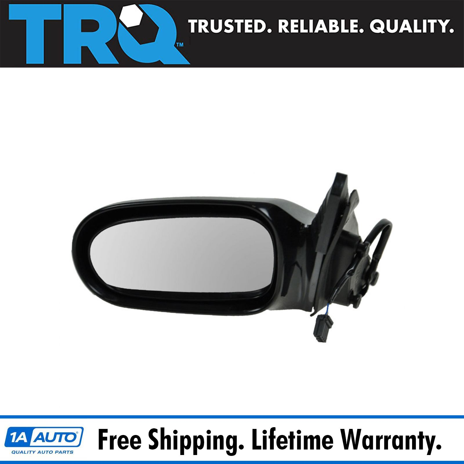 Power Smooth Side View Door Mirror Passenger Side Right RH for 98-99 Mazda 626