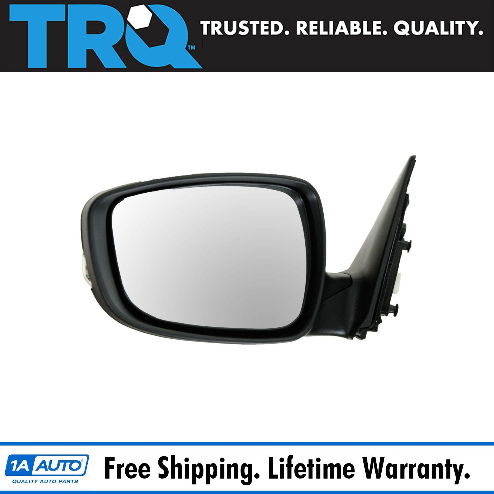 Side View Mirror Power Turn Signal Smooth Driver Side Left LH for 11-13 Sonata