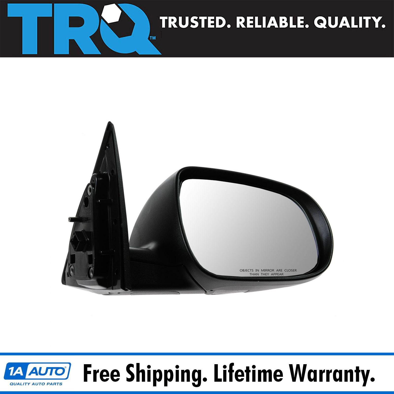 for 2011 2013 Kia Forte Passenger Right Mirror Power//Heated W//Signal Lamp Smooth