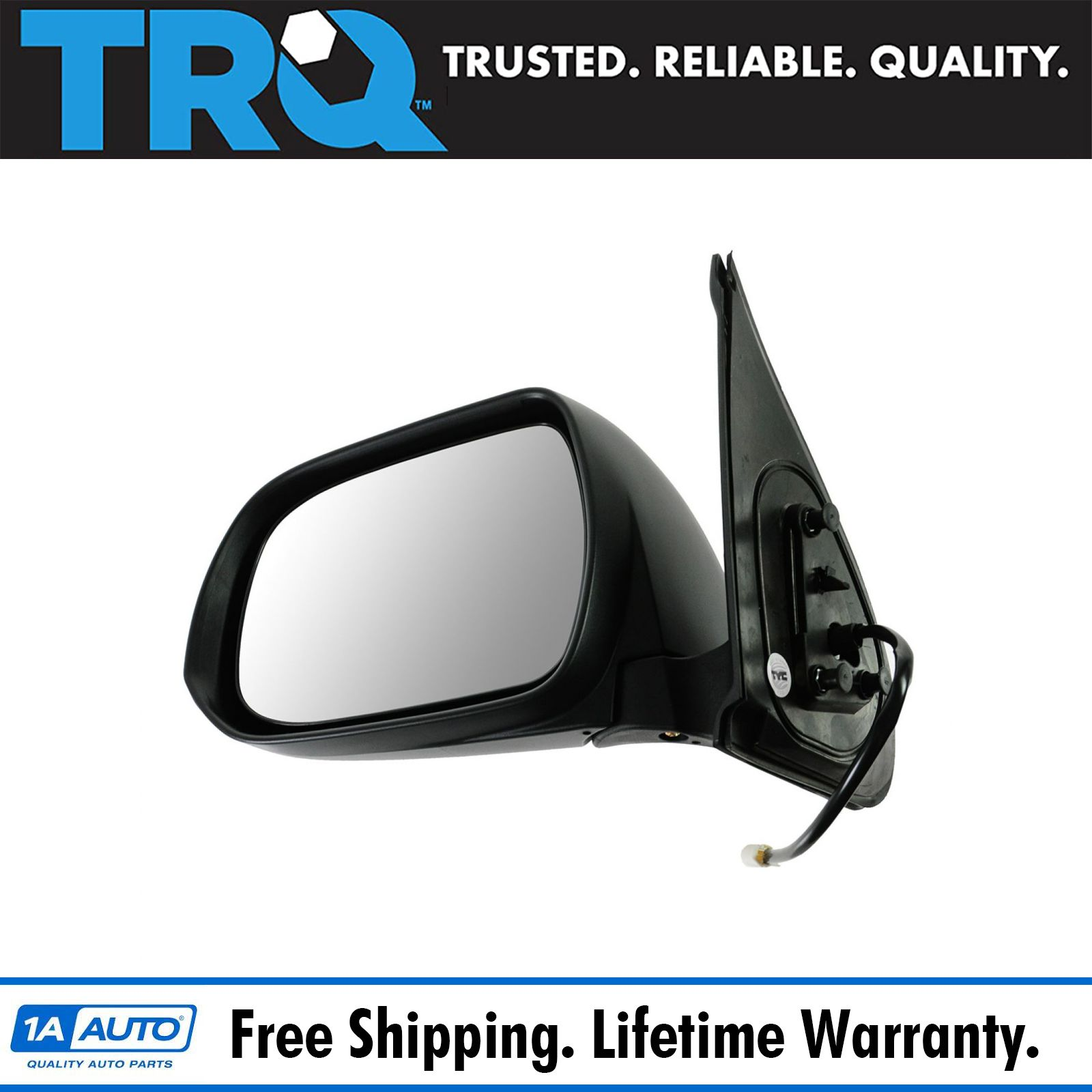 Folding Power Side View Mirror Passenger Right RH for 05-12 Tacoma Pickup Truck