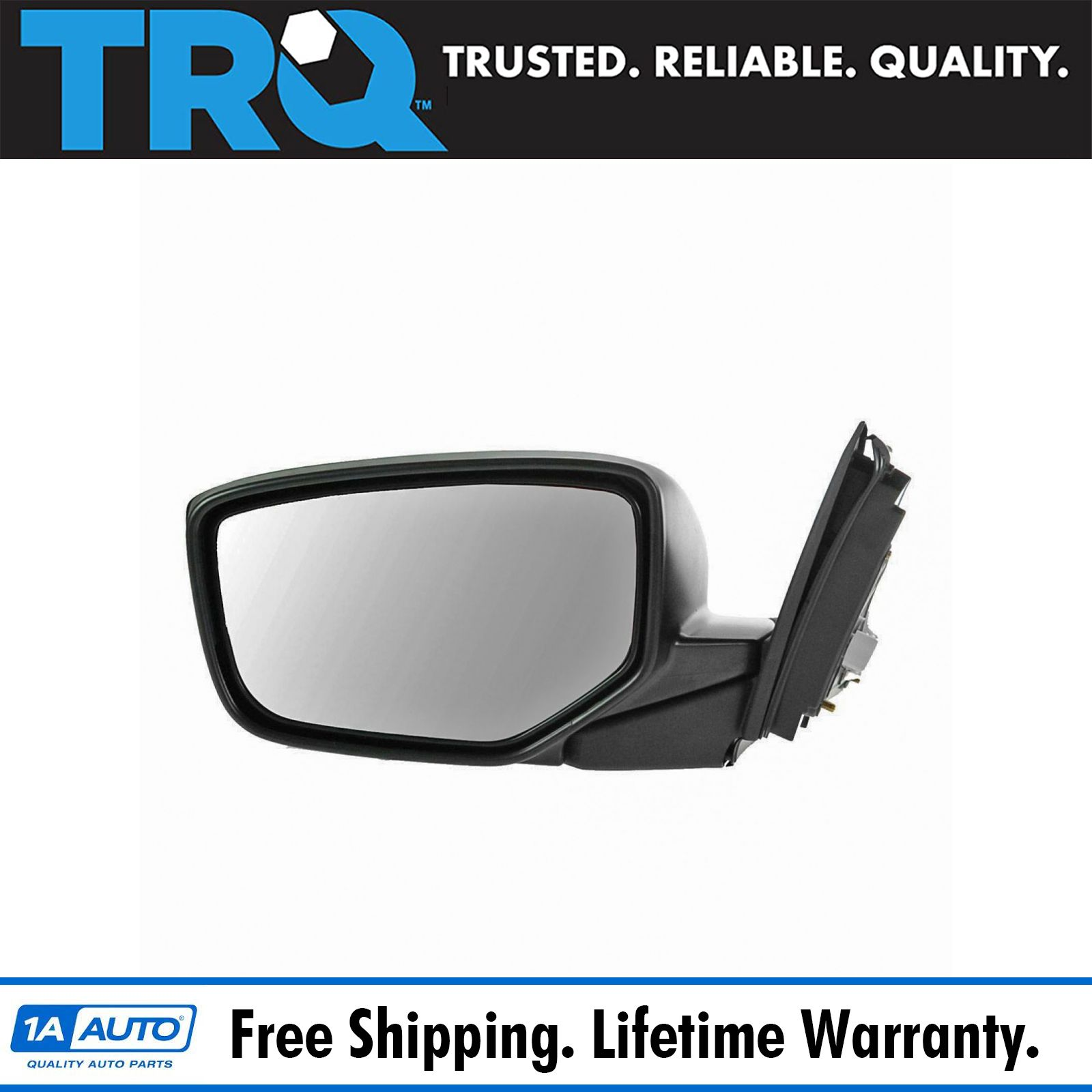 14-17 Corolla *Yaris Left Driver Mirror Glass Lens for Toyota *12-17 Camry