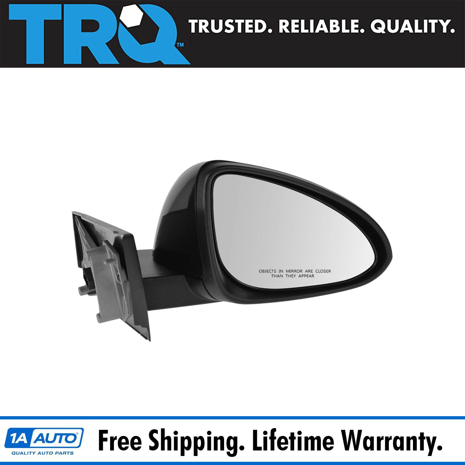 Mirror Manual Remote LH Left Driver Side for 13-14 Chevy Spark