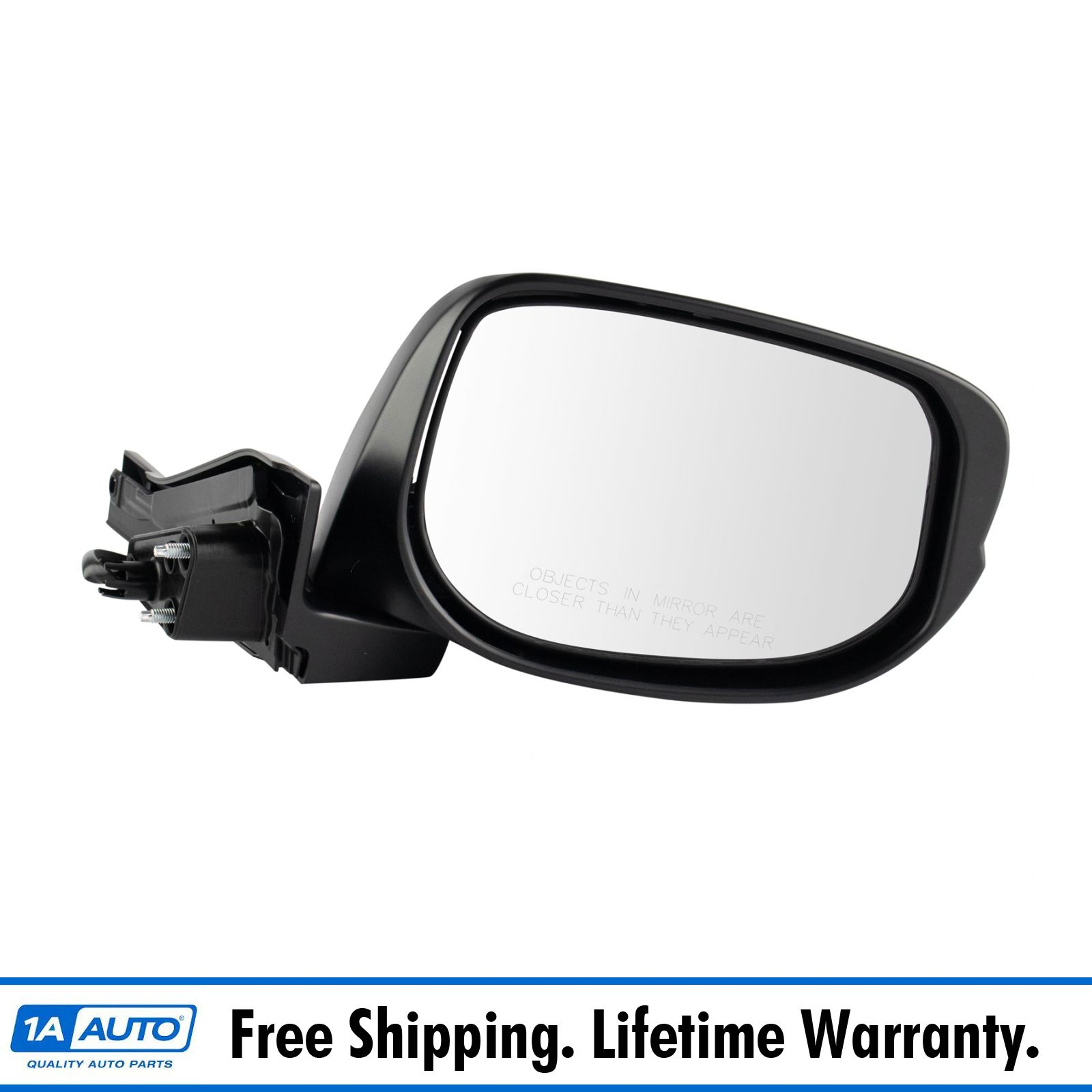 Fits Honda Insight 10-14 Drivers Side View Power Mirror Heated Signal