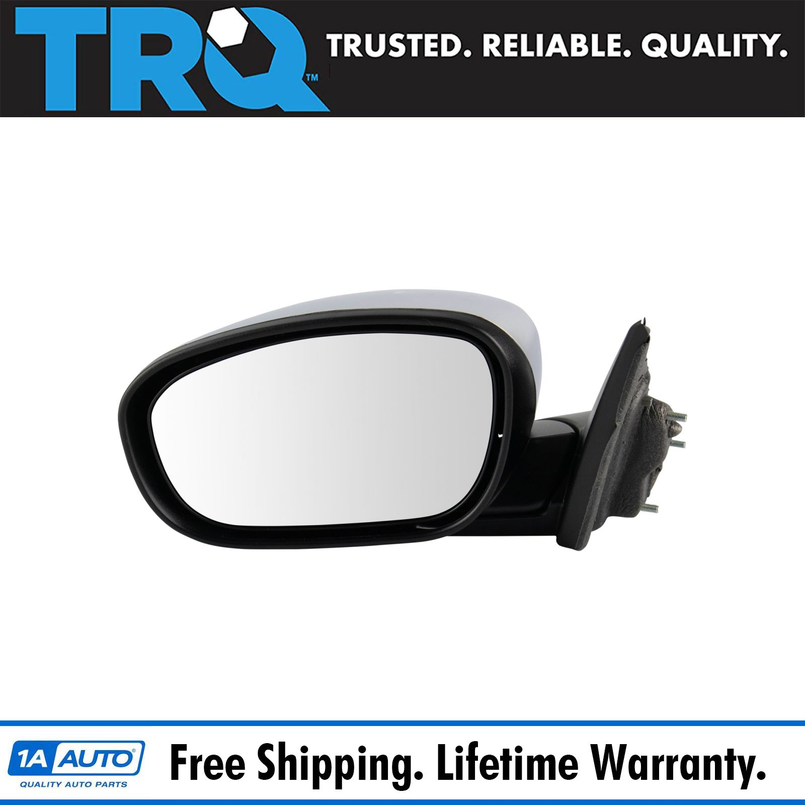 Exterior Mirror Glass Power Heated LH Diver Side for Dodge Journey Brand New