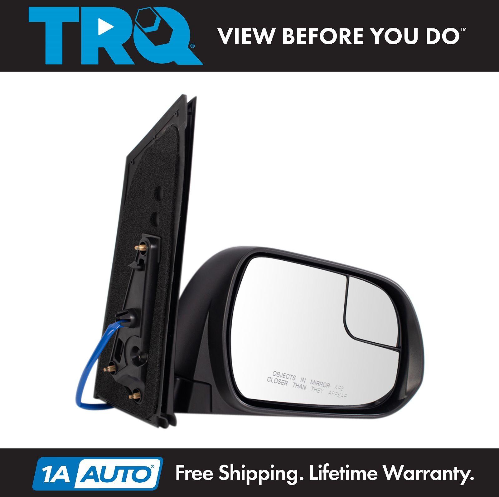 Mirror Power Textured Black Passenger Side Right RH for 2015 Toyota Rav4 New