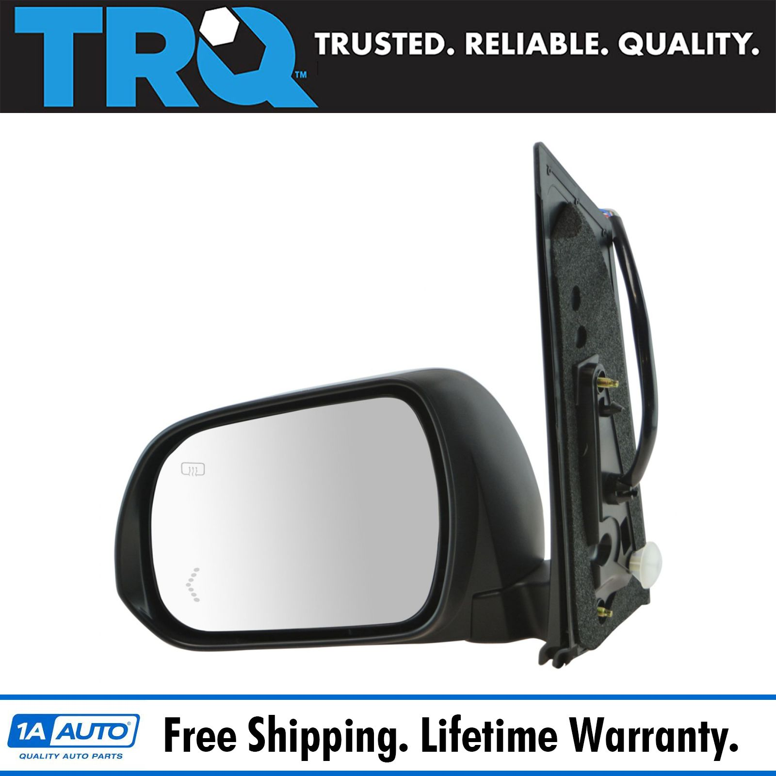 Painted to Match Mirror Fits 04-10 Sienna Left Driver Pwr w//Heat see details