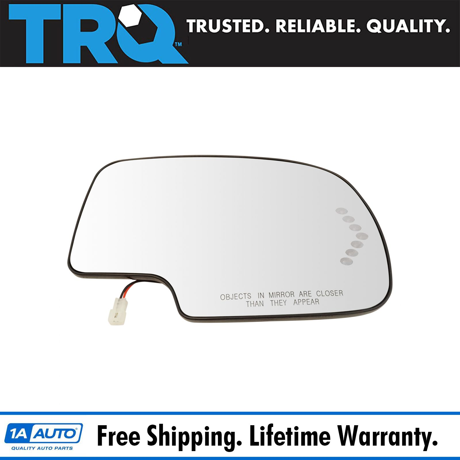 CHEVY DUALLY Heated Mirror Passenger Right 2003 2004 2005 2006 2007 Side View