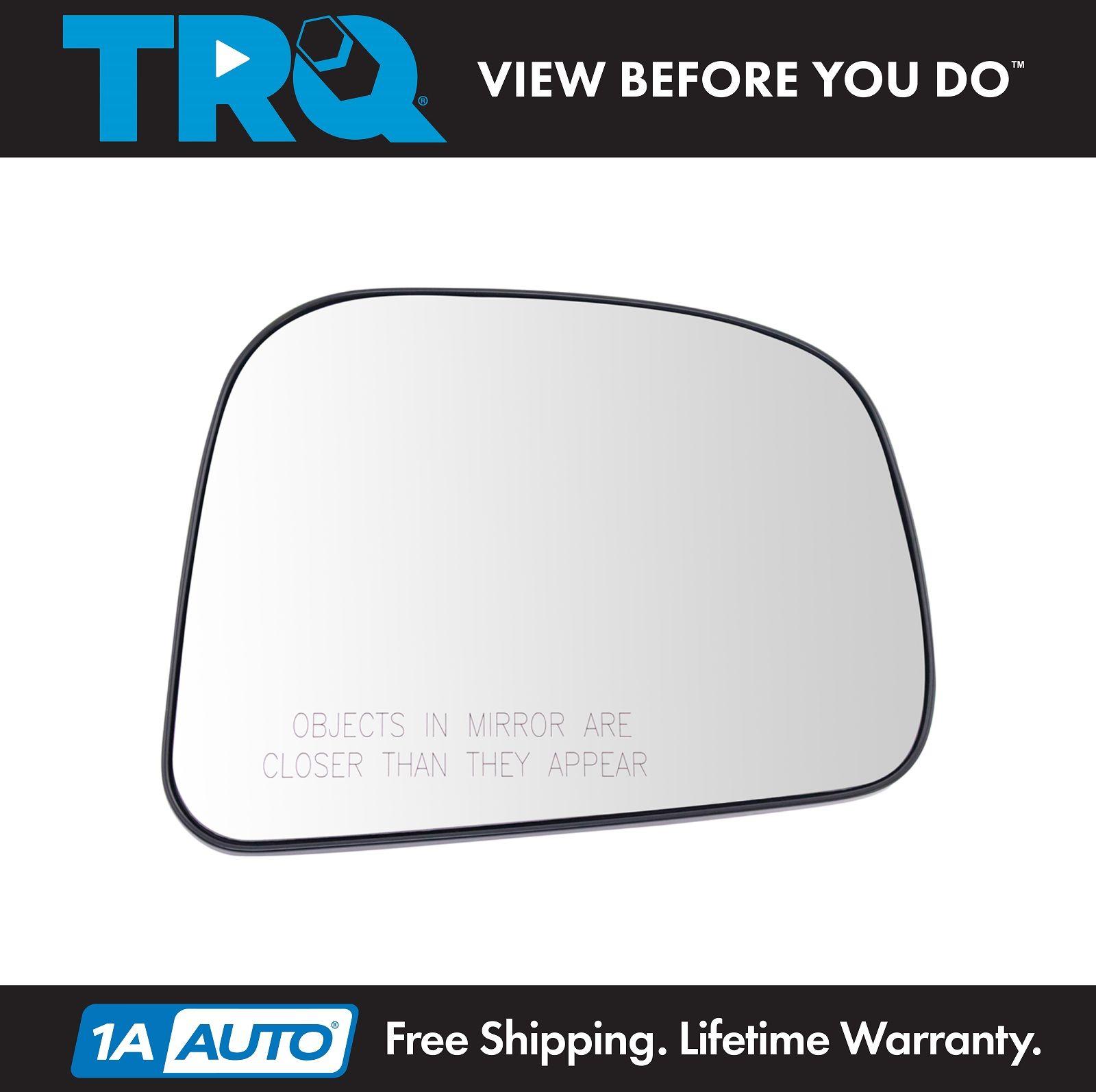 For Nissan Versa 07-12 Mirror Glass Non-Heated Passenger Right RH Side
