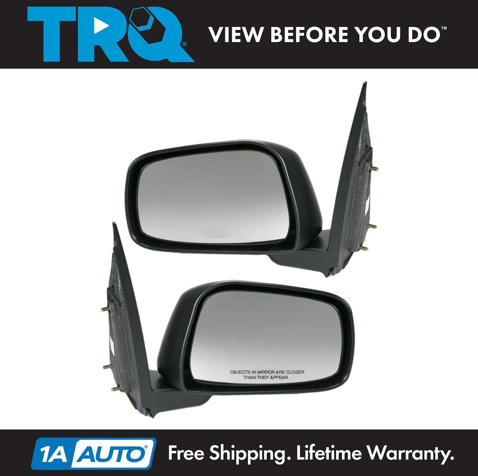 Power Non-Heat Rear View Door Mirror Left Driver Side For Frontier Pickup Truck