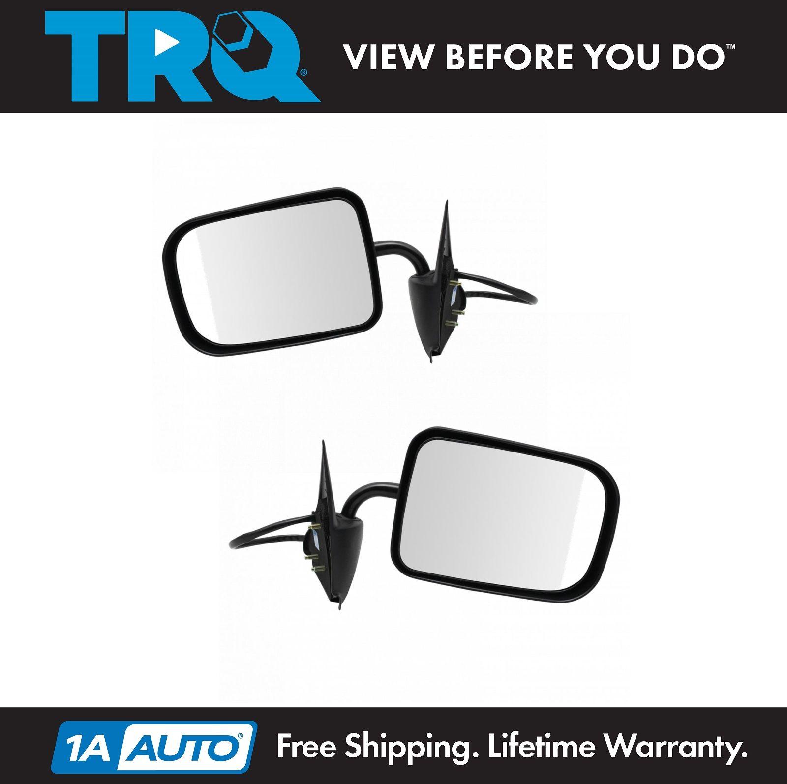Chrome Power Mirror RH Right Passenger for 94-97 Dodge Ram 1500 2500 3500 Pickup