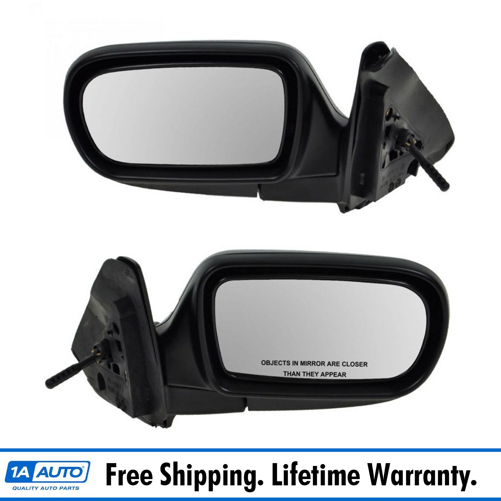 Power Side View Mirror Left /& Right Pair Set of 2 for 11-13 Mazda 2