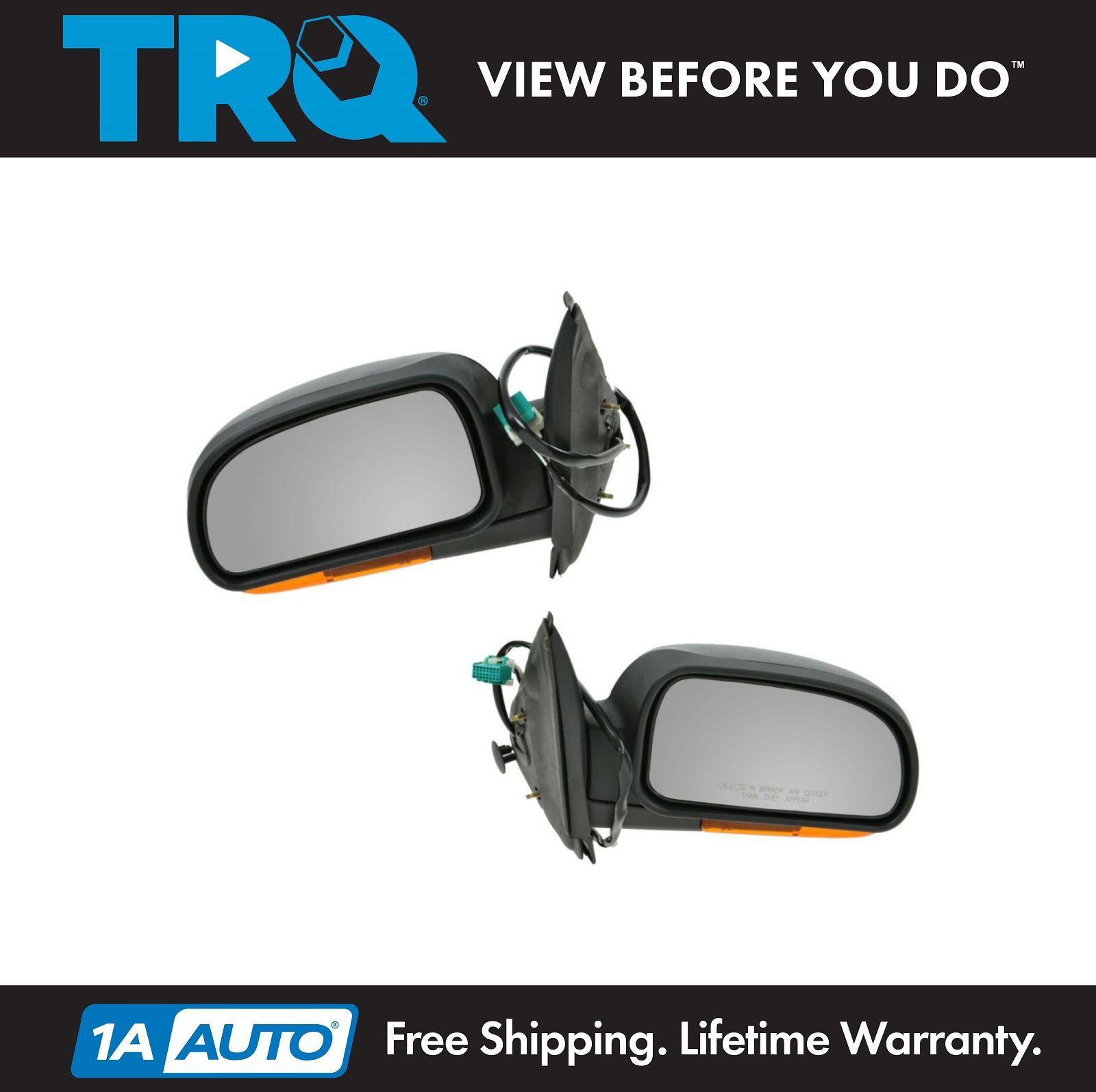 Power Heated Side View Mirror Glass Left Hand Driver LH for Trailblazer Envoy