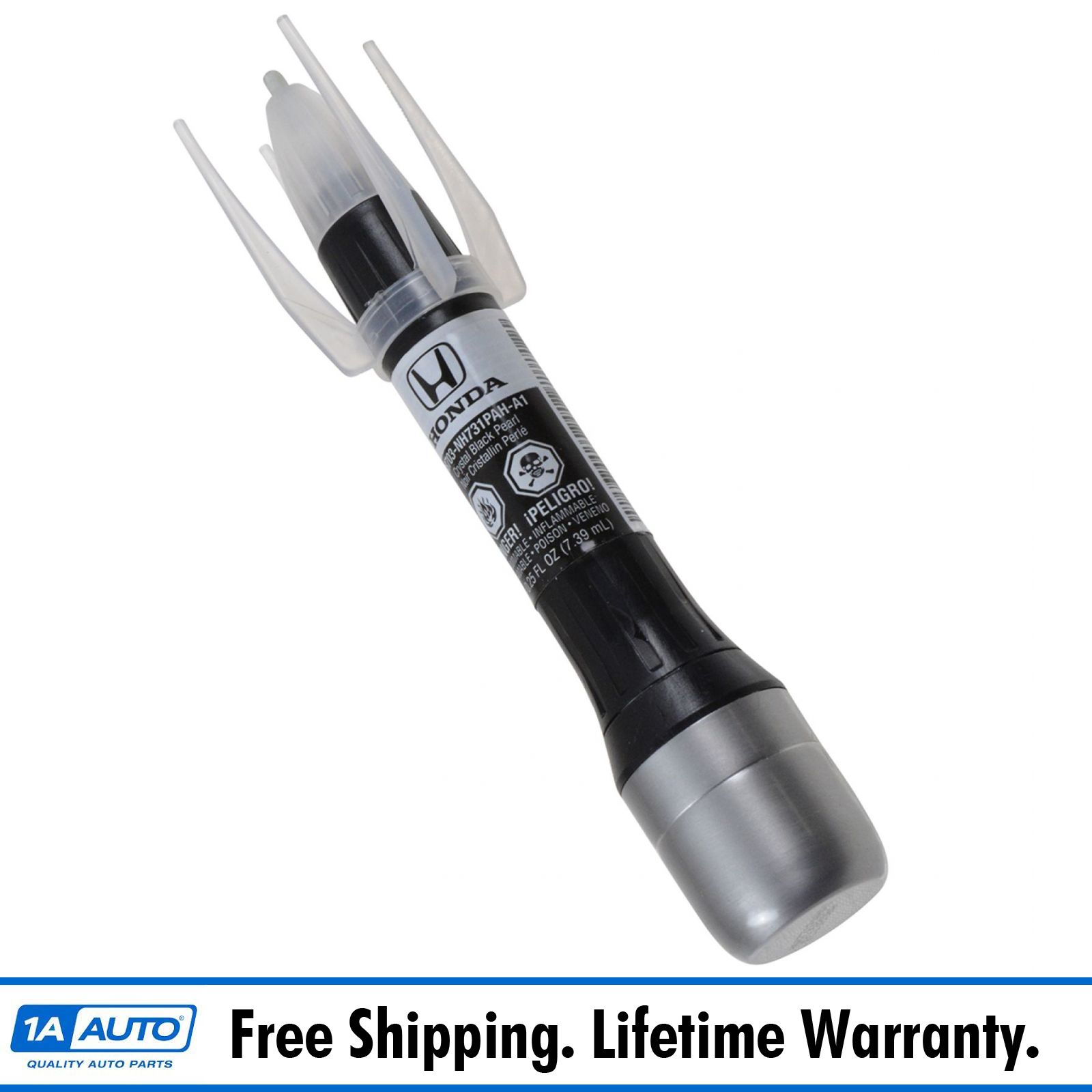 OEM Touch-Up Paint Pen Brush Crystal Black Pearl NH-731P