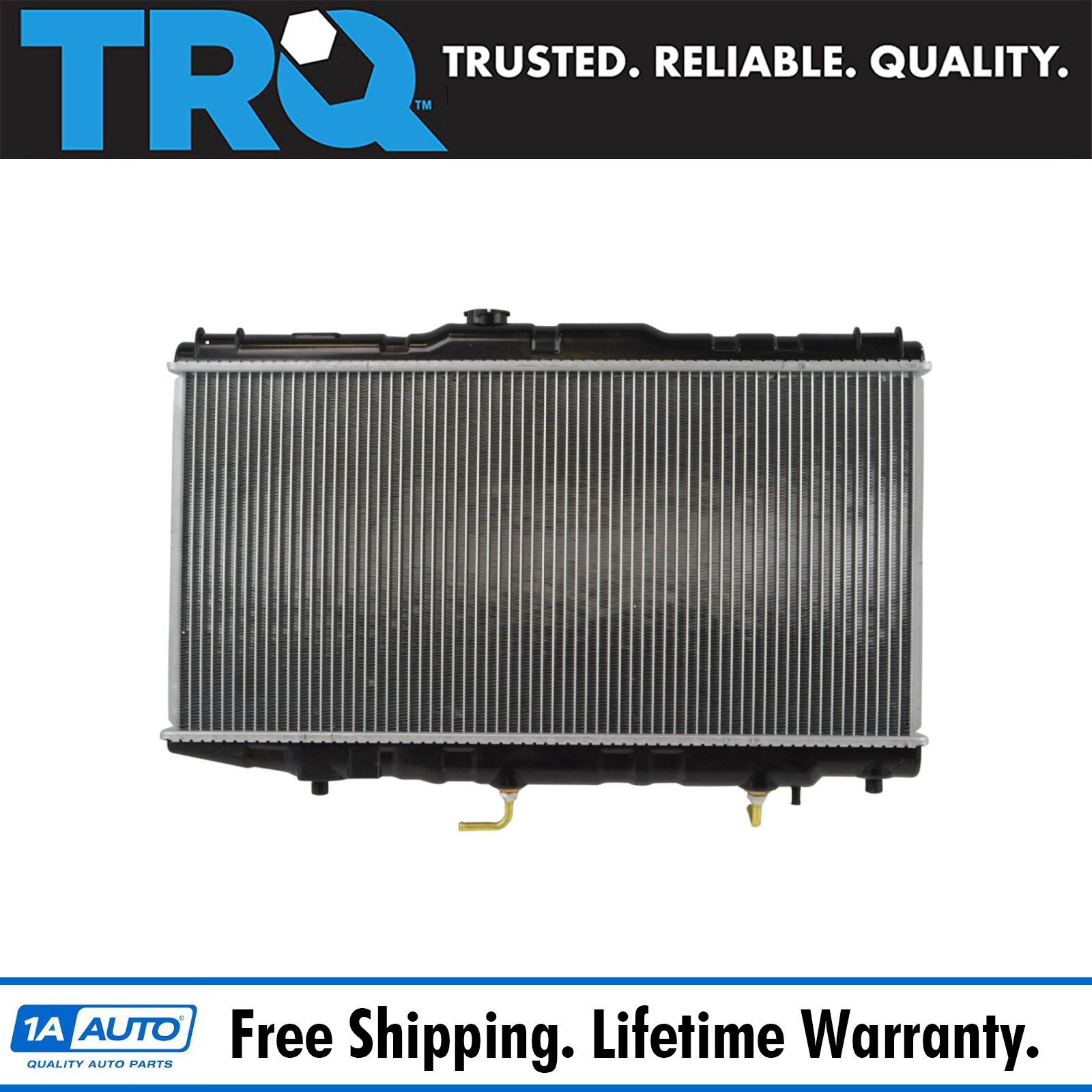 Radiator Assembly Aluminum Core Direct Fit for Corolla Prizm 1.6L 1.8L New