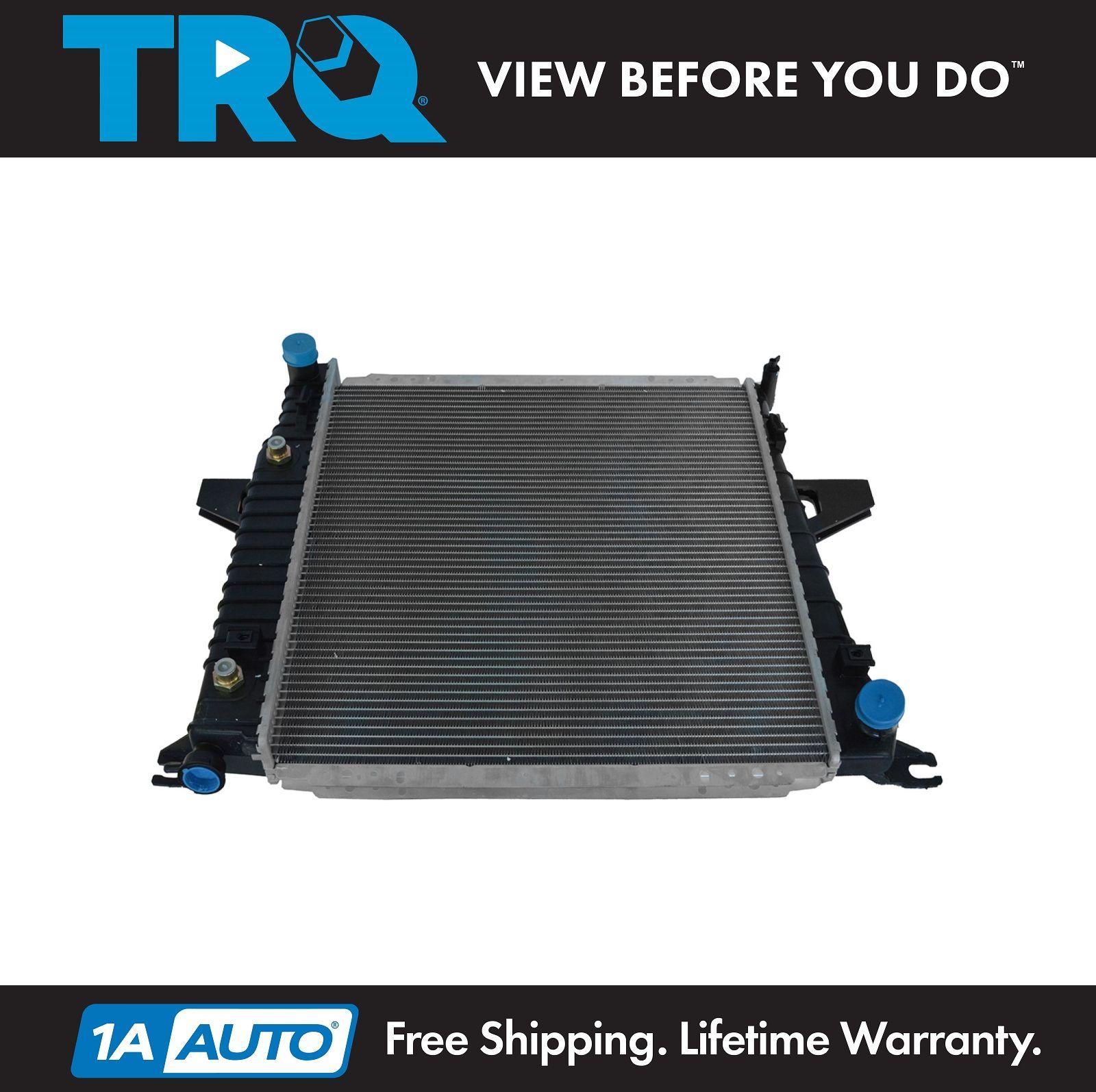 2-Row//CORE Aluminum Radiator For Ford Ranger F-100 Ranger XL Mazda B2500 98-01
