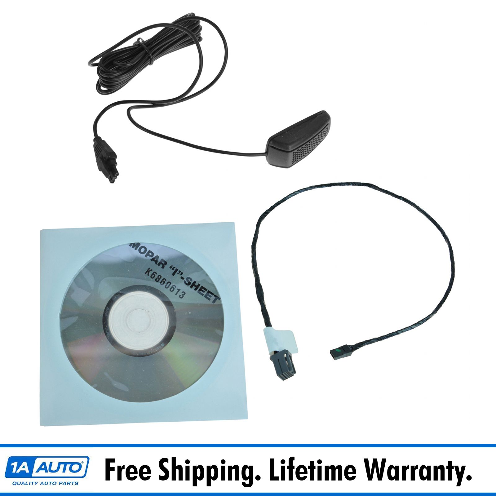 Details about Mopar Mygig RER Navigation Blue Tooth Microphone Kit for  Liberty Grand Cherokee