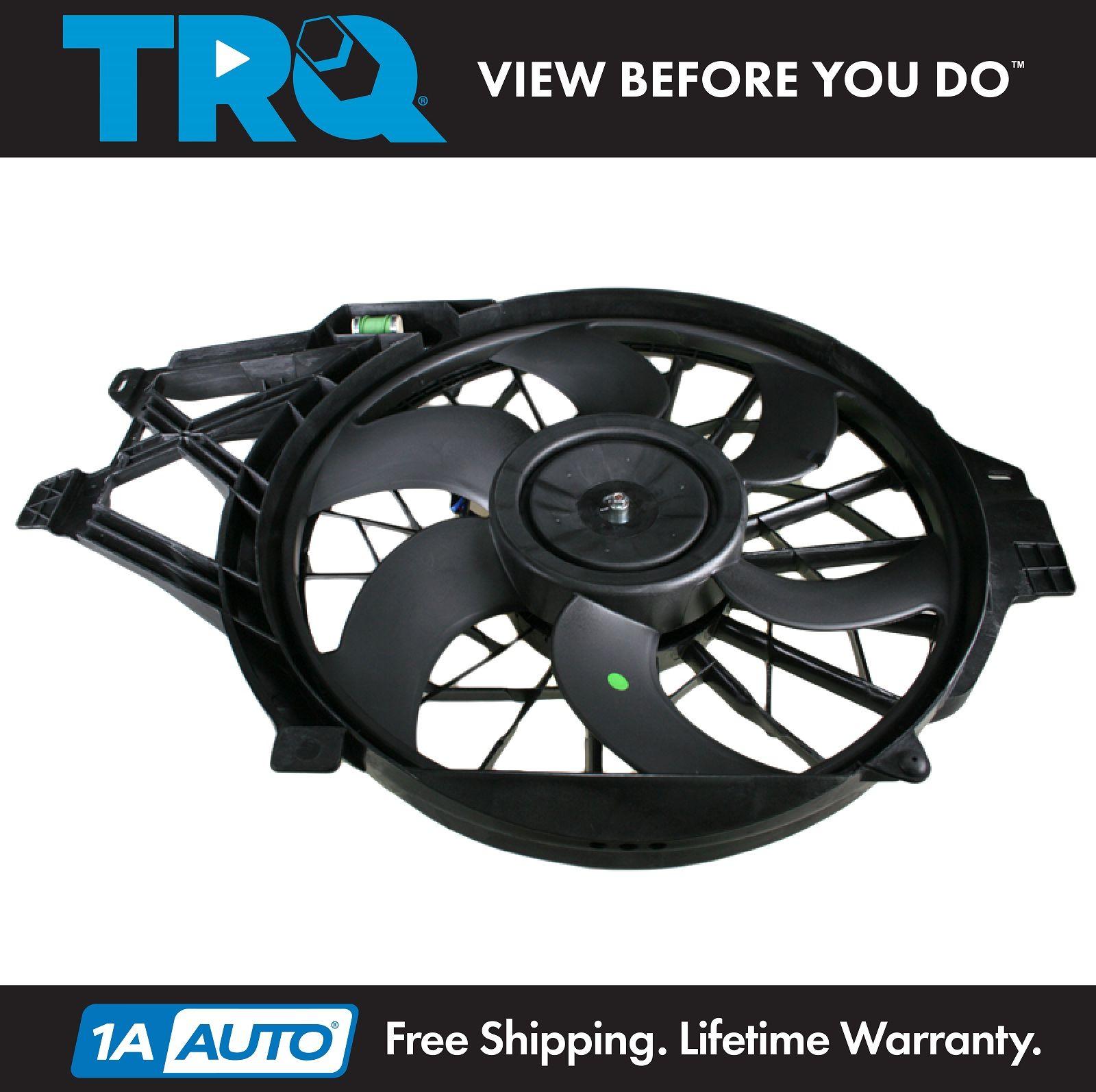 Engine Cooling Fan Assembly-Radiator Fan Assembly fits 01-04 Mustang 4.6L-V8