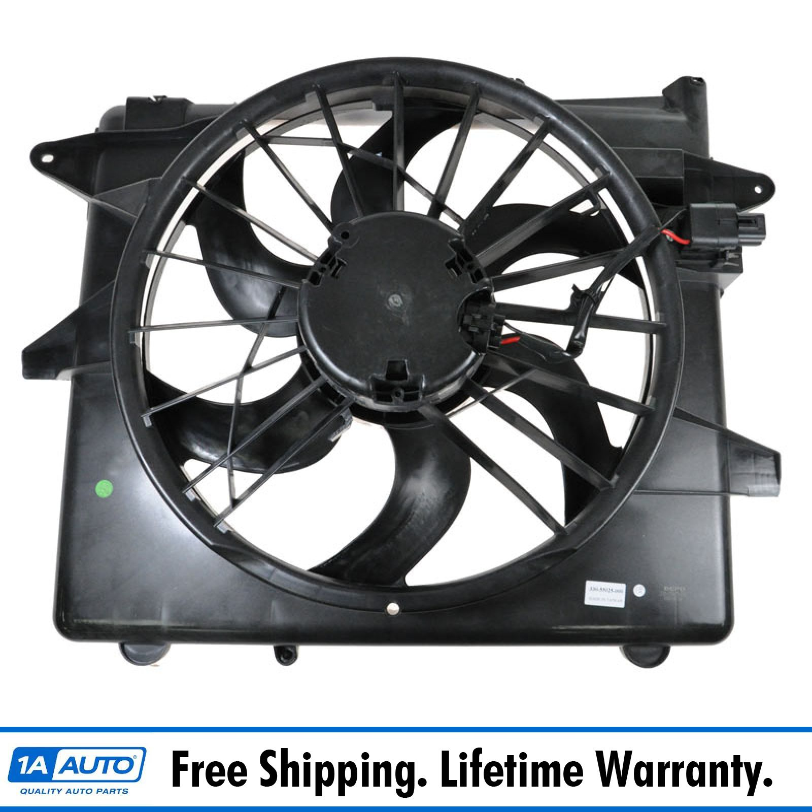 Radiator And Condenser Fan For Ford Mustang  FO3115152