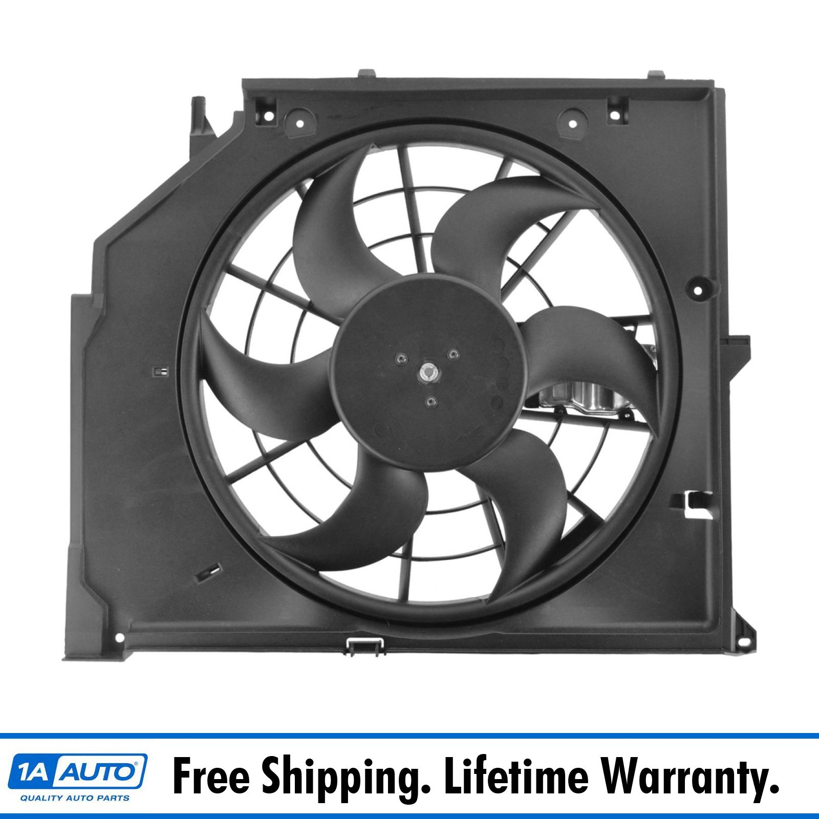 Puller Radiator Cooling Fan Assembly For BMW 3 Series E46