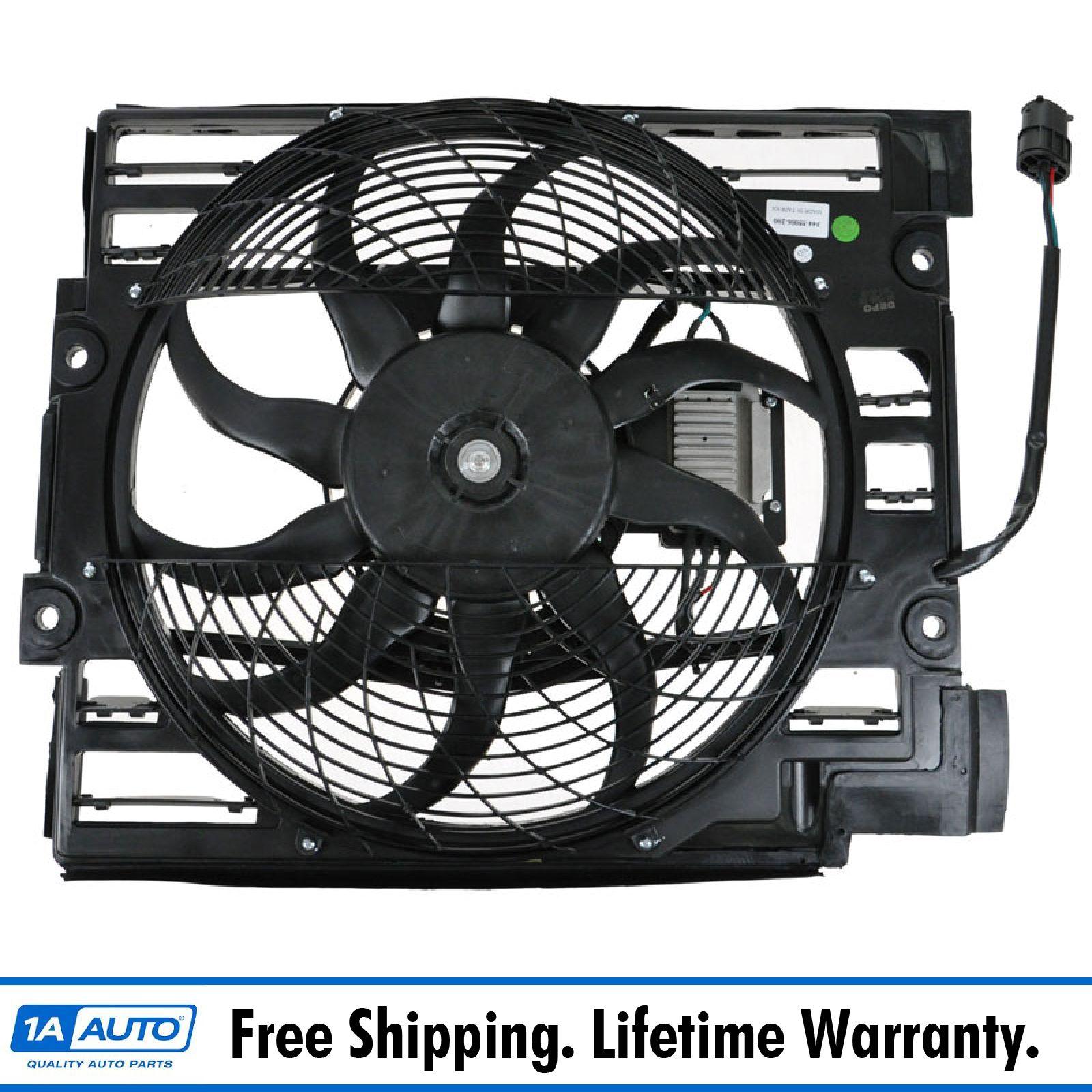 Radiator Pusher Cooling Fan Assembly for BMW 525i 528i 528iT 530i 540i M5 E39