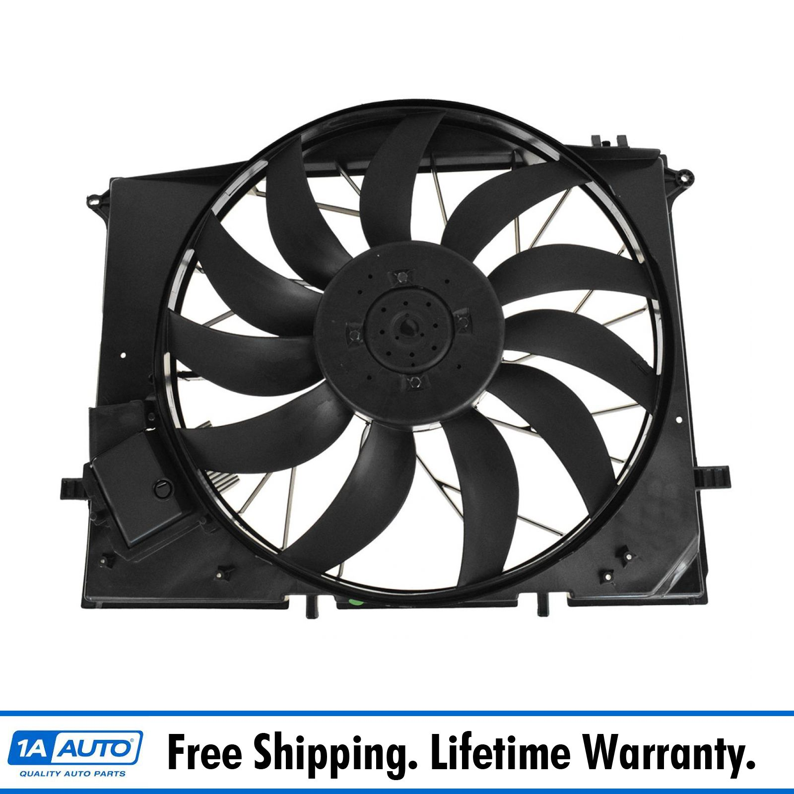 11 Blade Radiator Cooling Fan Assembly for CL500 S350 S430 S500 S55 CL55