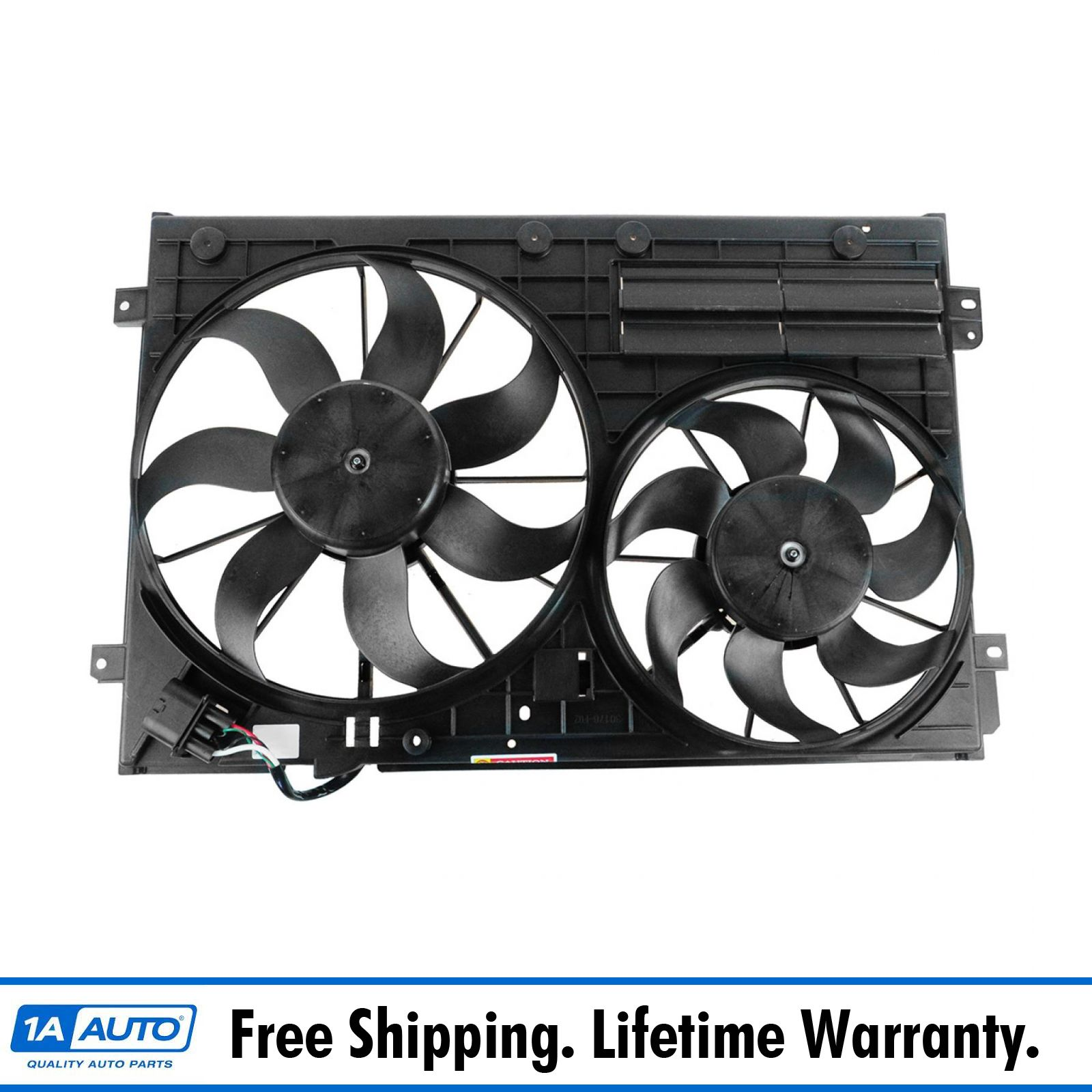 Radiator Cooling Dual Fan Assembly for Audi A3 TT  Quattro VW