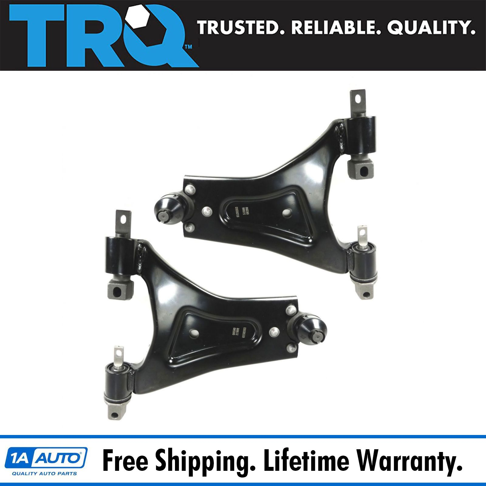 For Mercury Cougar 2000 2002 Replace 2fzw Remanufactured: Front Lower Control Arm Ball Joint Pair Set Suspension For
