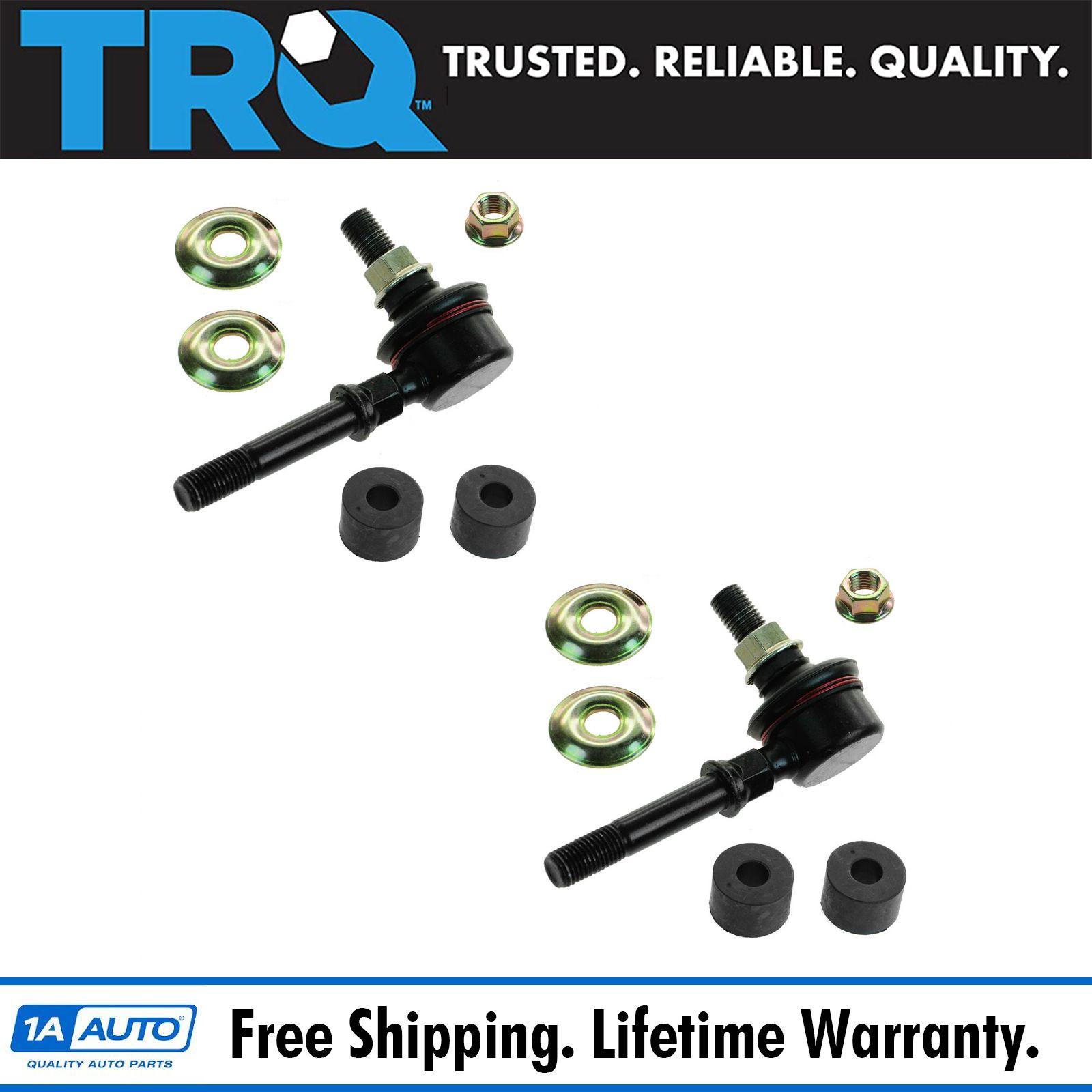 Front Sway Bar End Link Kits Left /& Right Pair Set NEW for Nissan