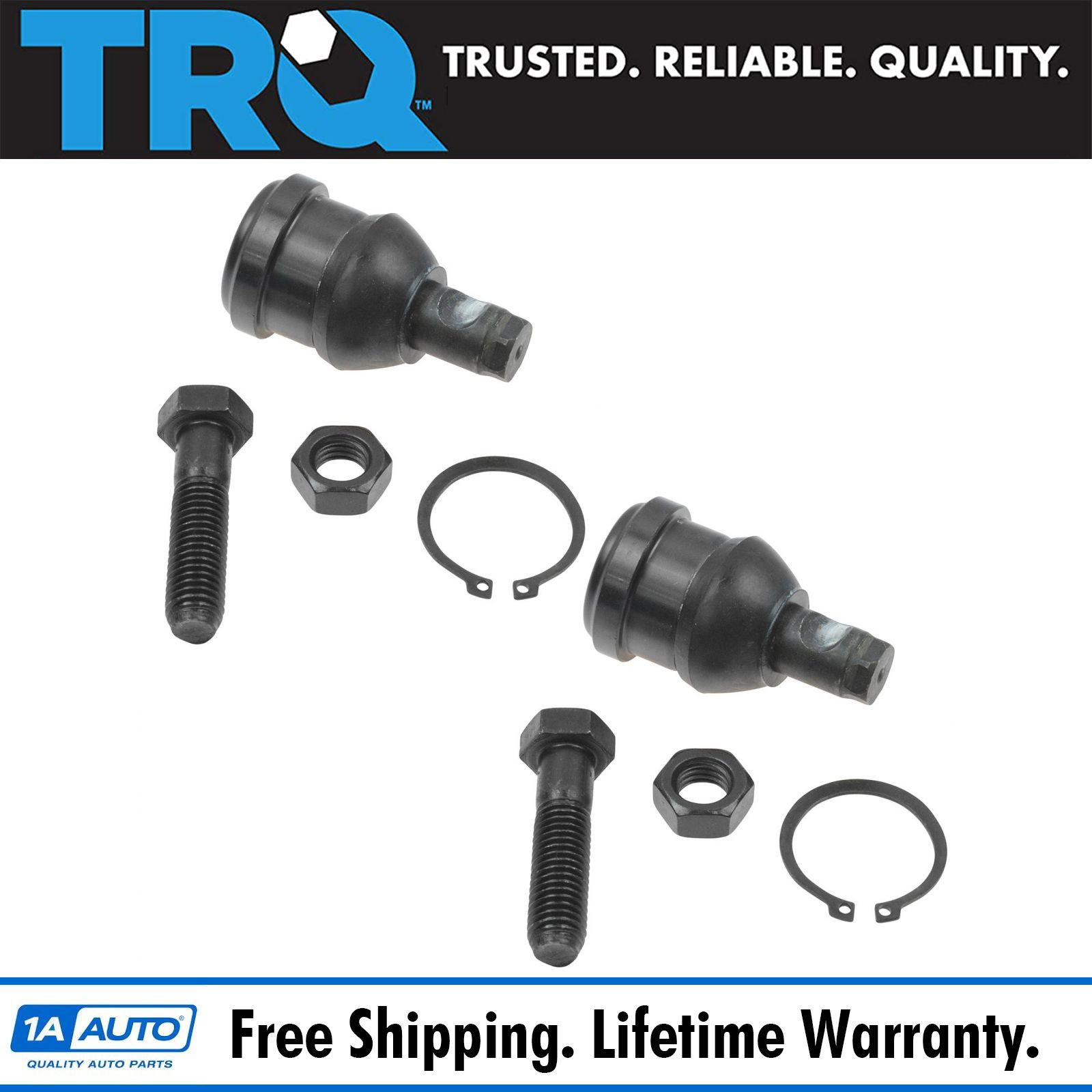 TRQ Front Ball Joint Upper /& Lower LH RH Kit Set of 4 for Plymouth Dodge Van