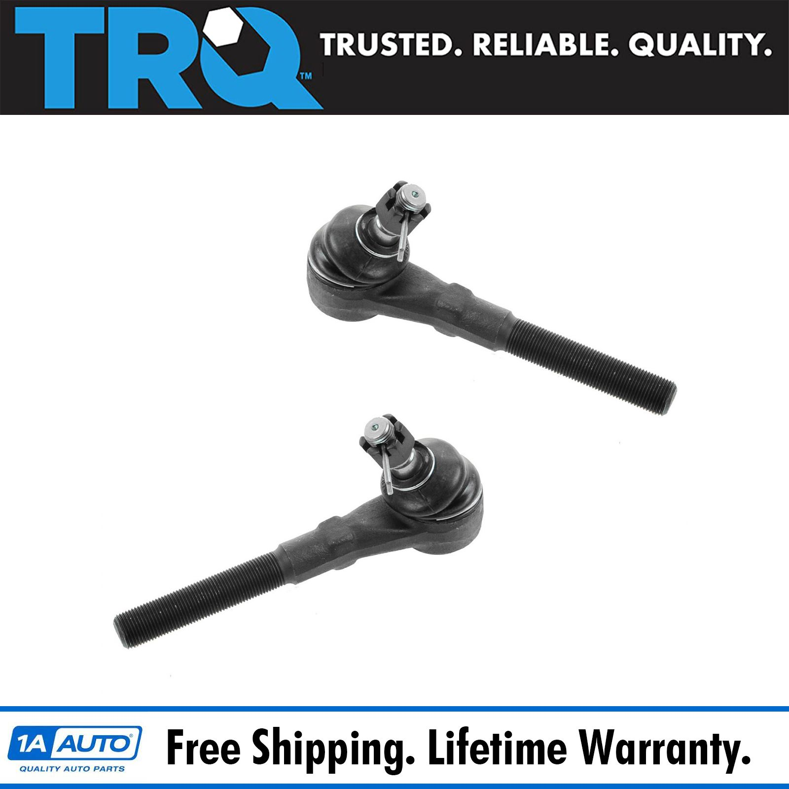 Front Outer Outside Tie Rod End Pair Set for Expedition F150 F250 Navigator 4WD