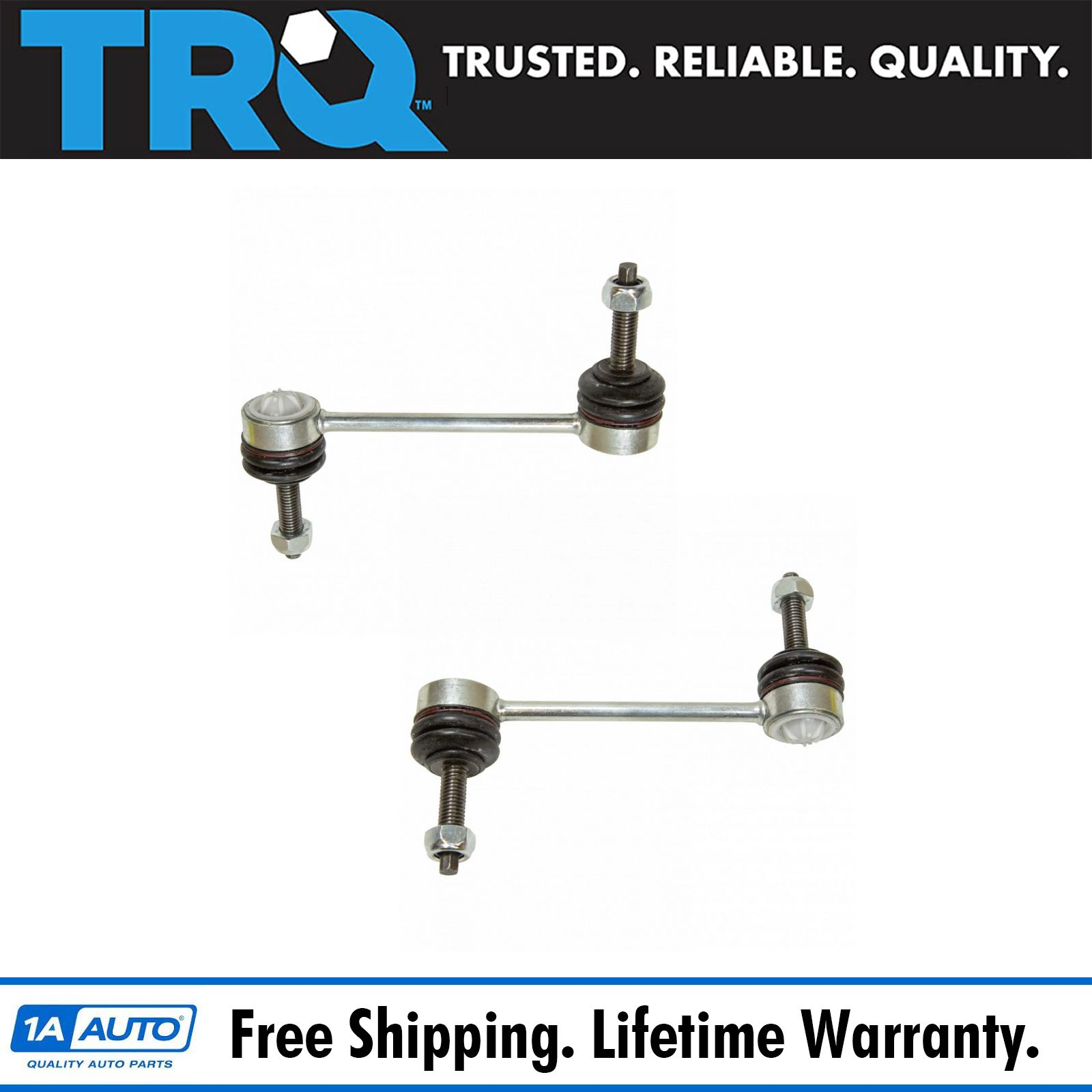 Both Driver and Passenger Side fits 2WD Only Brand New Front Stabilizer Sway Bar End Link 2
