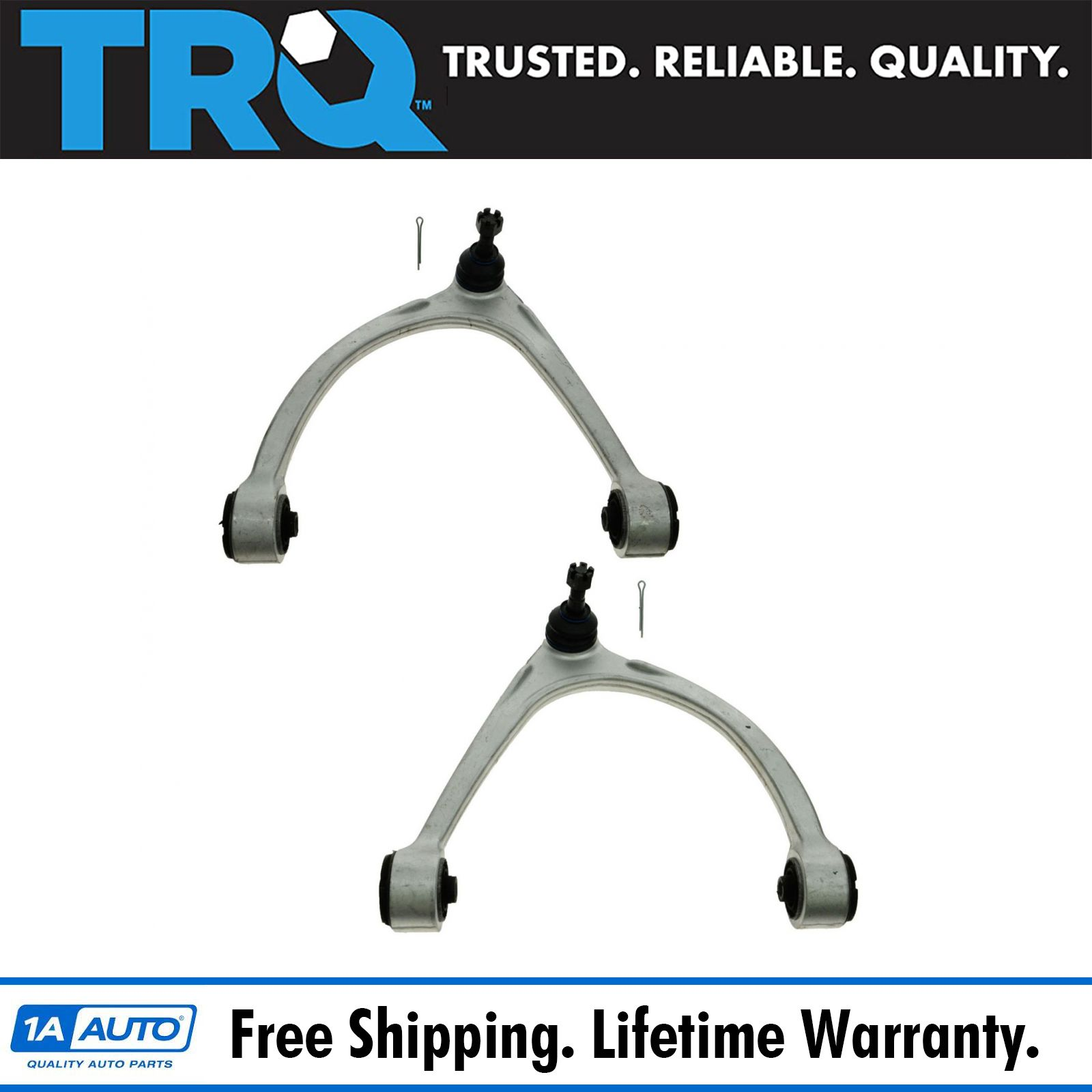 New Front Upper Control Arms With Bushings Ball Joints for Chevrolet Tahoe 01-06
