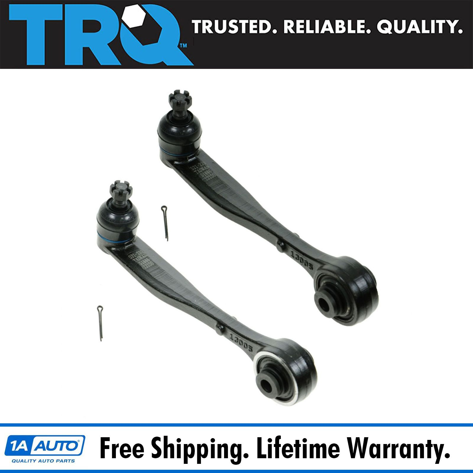 Rear Upper Control Arm & Ball Joint Left/Right Pair Set of 2 for 96-04 Acura  RL