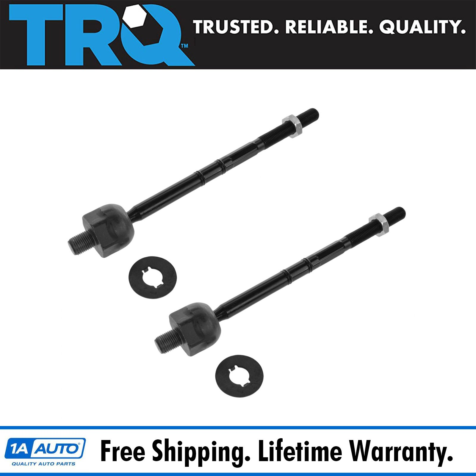 Set of 2 Outer Steering Tie Rod End fits 2013 Ford Flex for Left /& Right Side