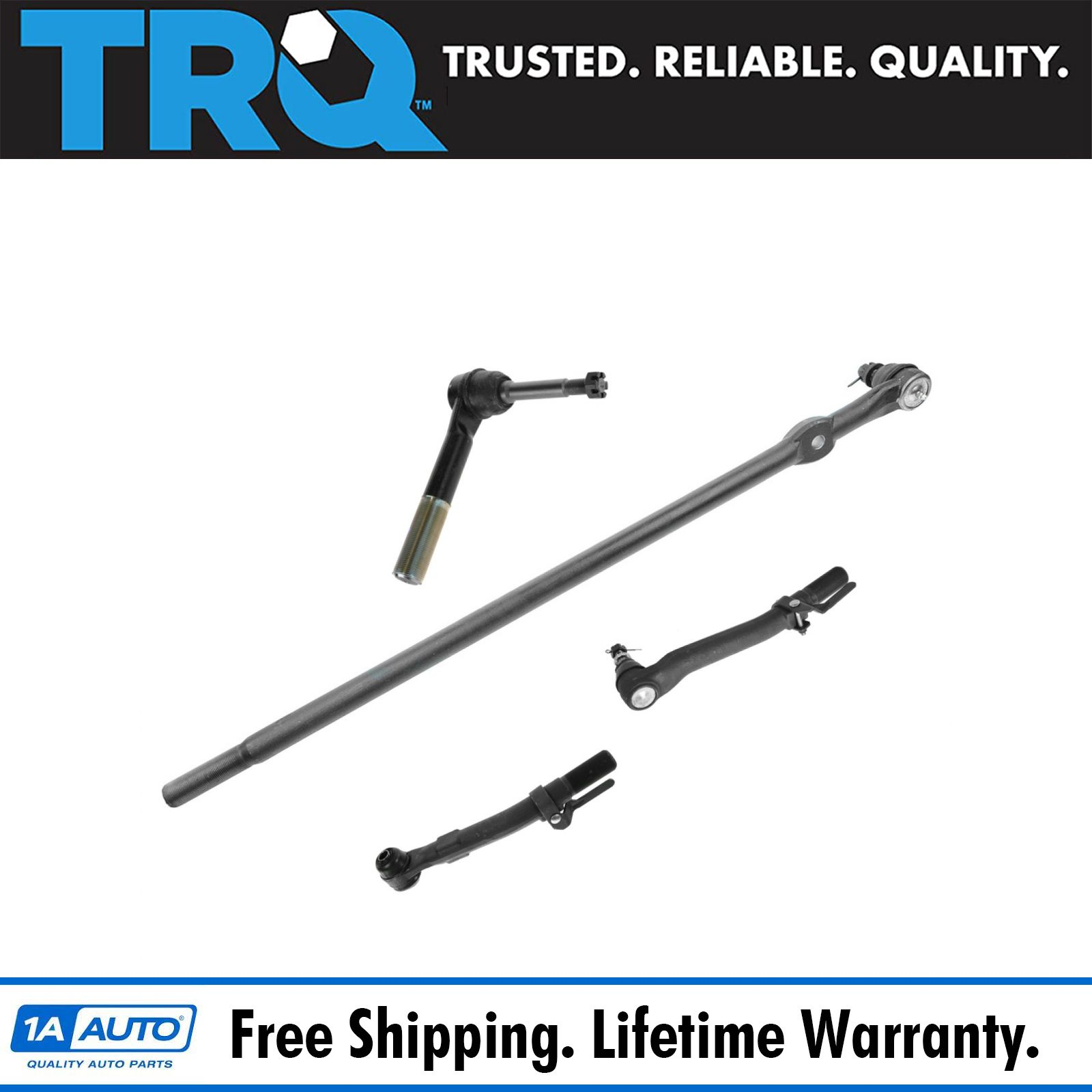 2008 For Ford F-250 Super Duty Front Right Outer Steering Tie Rod End Engine: 5.4L, 6.4L, 6.8L ; Note: 4WD