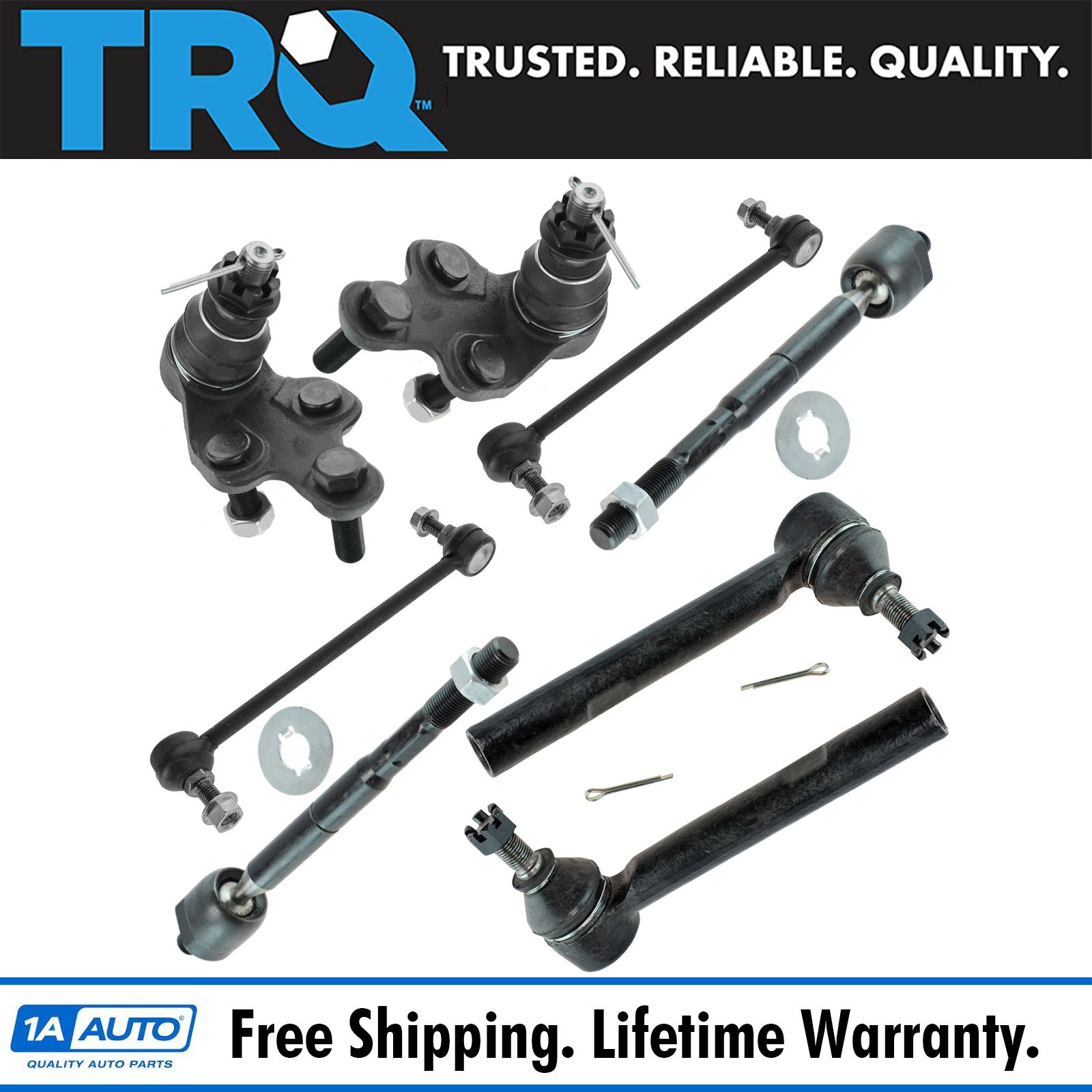 Steering /& Suspension Kit LH RH Front Set of 10 for Escape Mariner Tribute New