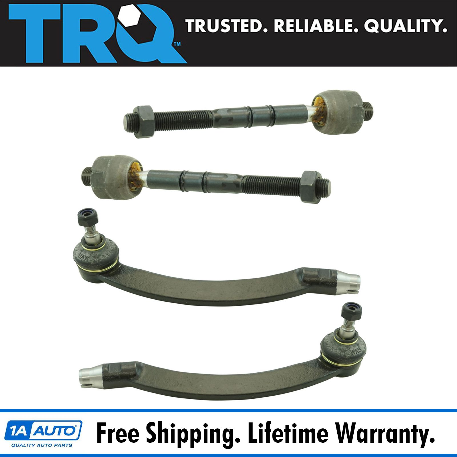 For Mini Cooper 2003 2004 2005 2006 2007 2008 New Complete Tie Rod Assembly BuyAutoParts 85-10051AN New