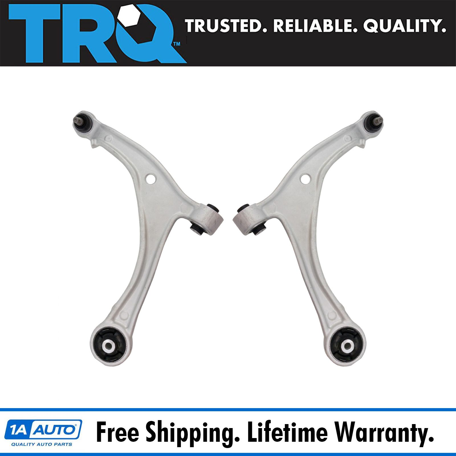 For Honda Odyssey 3.5L Pair Set of 2 Front Lower Control Arms /& Ball Joints NEW