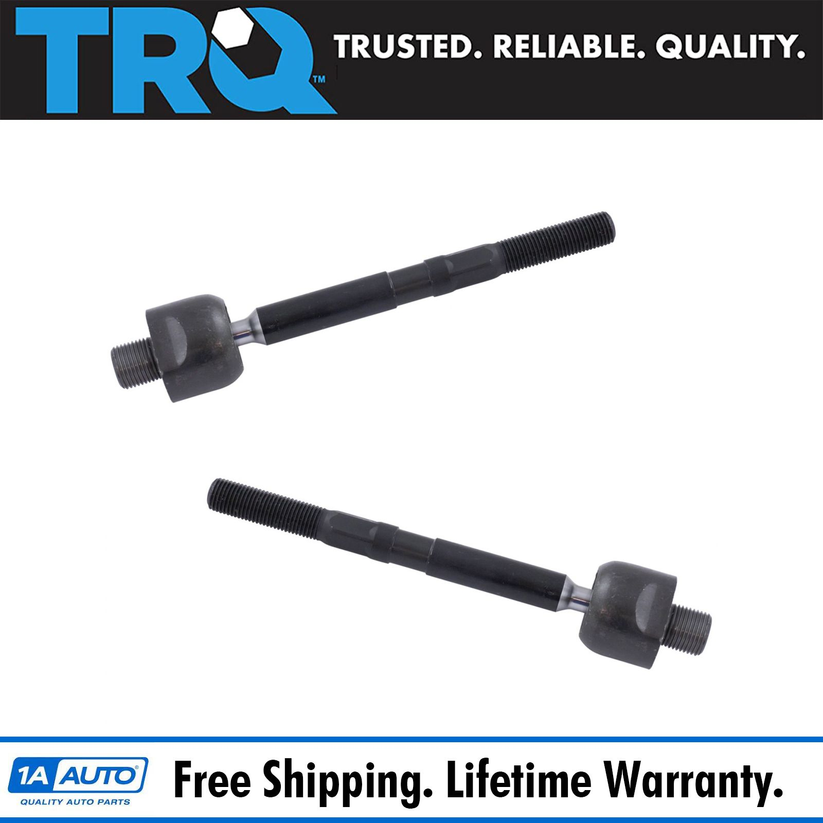 Front Inner Tie Rod End Pair Driver & Passenger Sides For